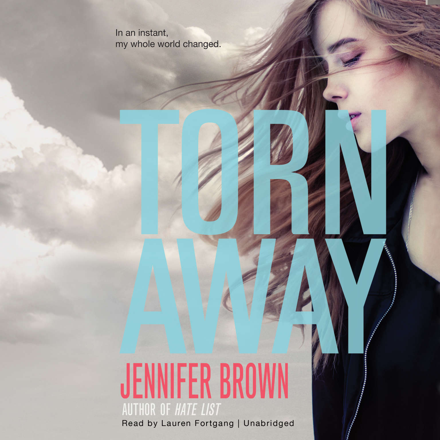 Printable Torn Away Audiobook Cover Art