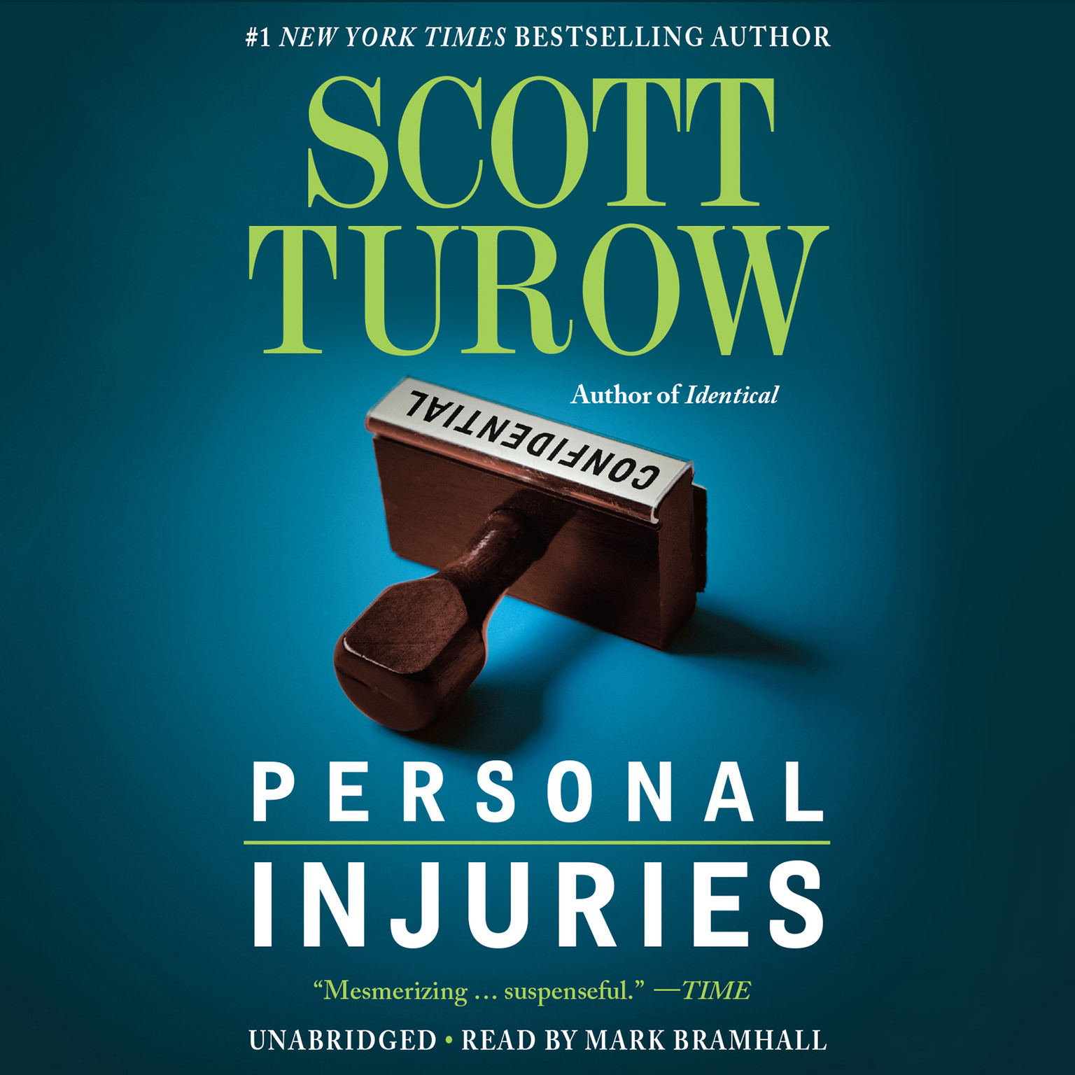 Printable Personal Injuries Audiobook Cover Art