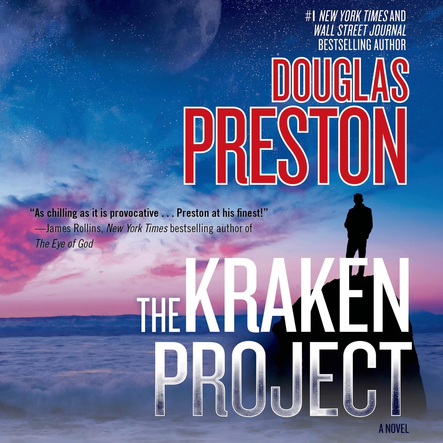 Printable The Kraken Project: A Novel Audiobook Cover Art