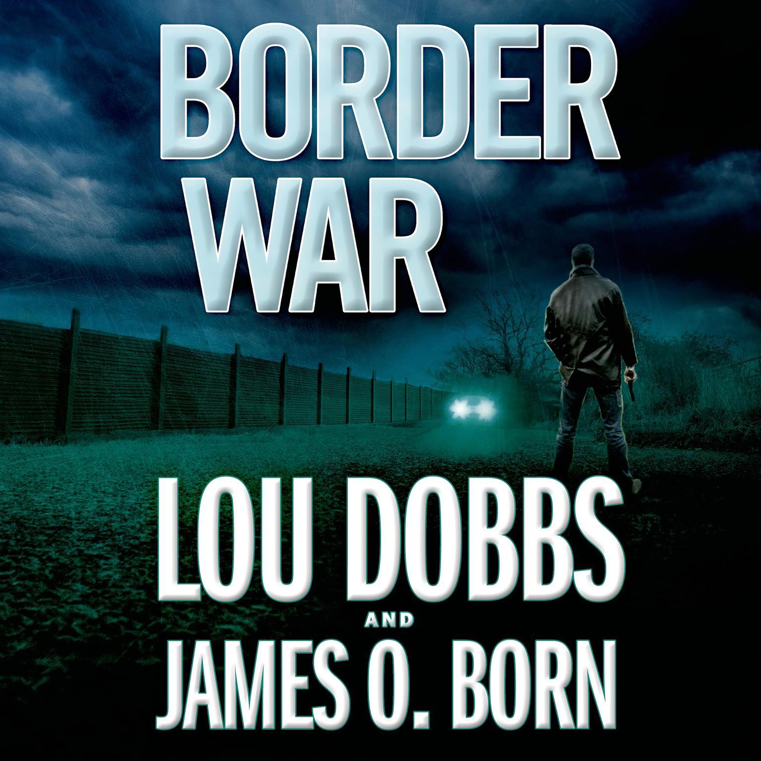 Printable Border War Audiobook Cover Art