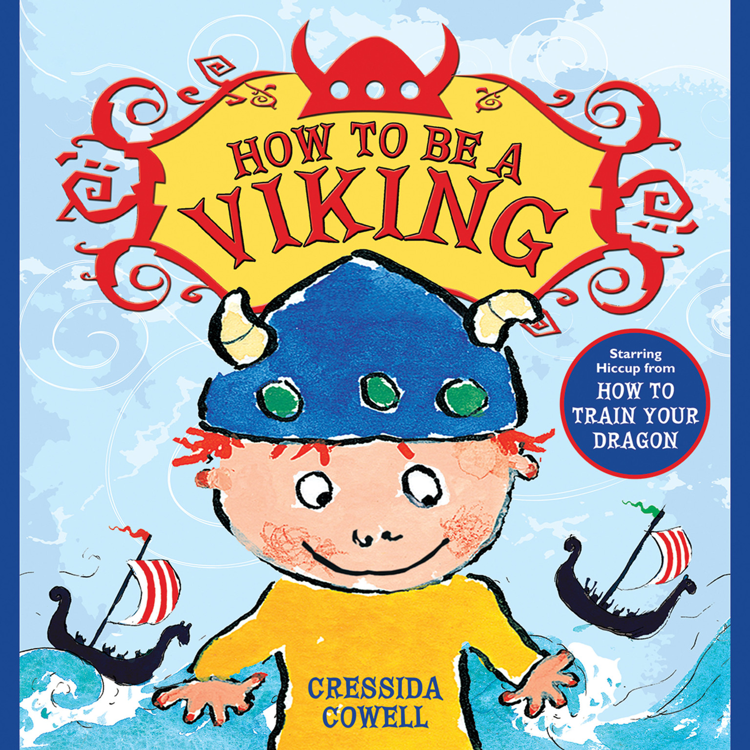 Printable How to Be a Viking Audiobook Cover Art