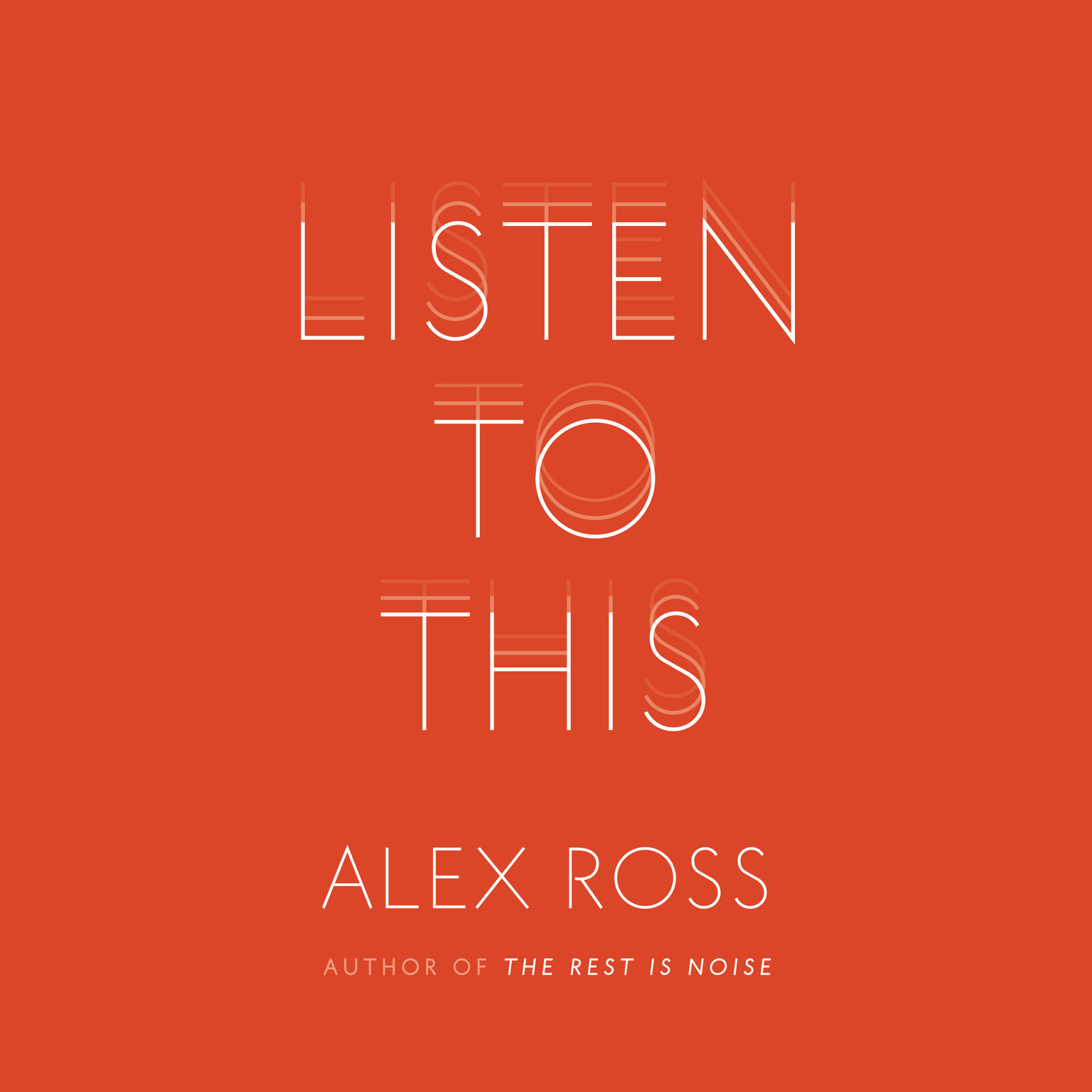 Printable Listen to This Audiobook Cover Art