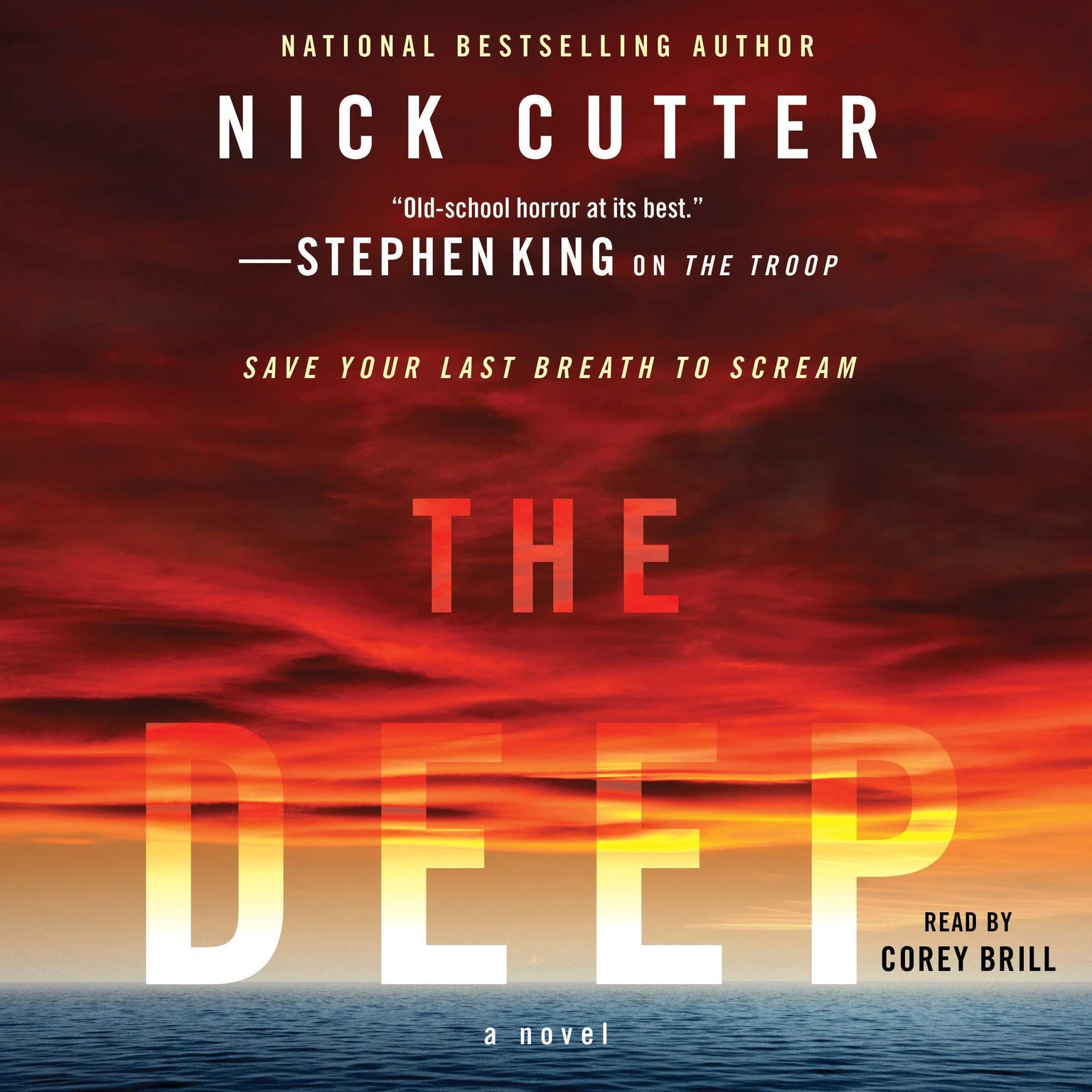 Printable The Deep Audiobook Cover Art