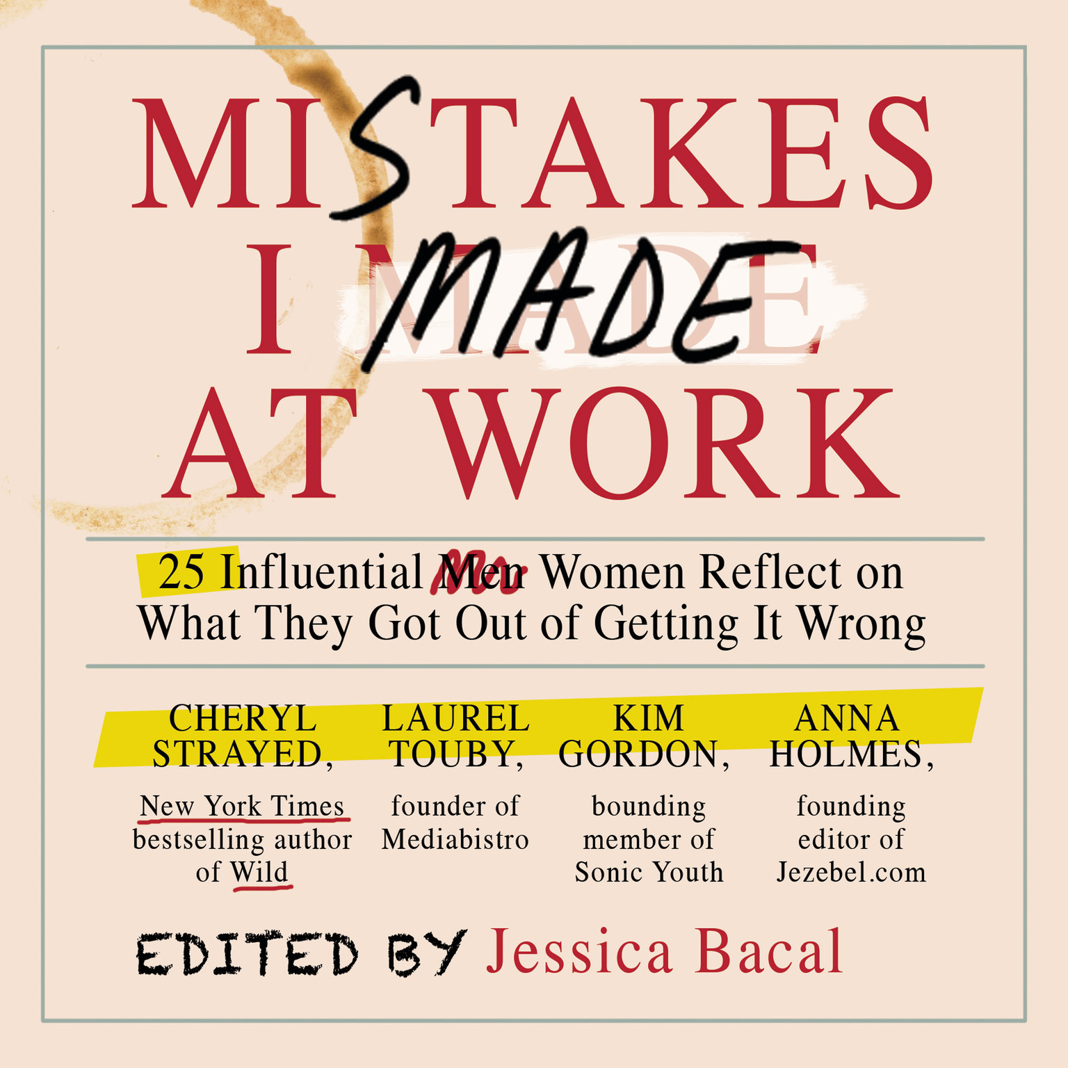 Printable Mistakes I Made at Work: 25 Influential Women Reflect on What They Got Out of Getting It Wrong Audiobook Cover Art
