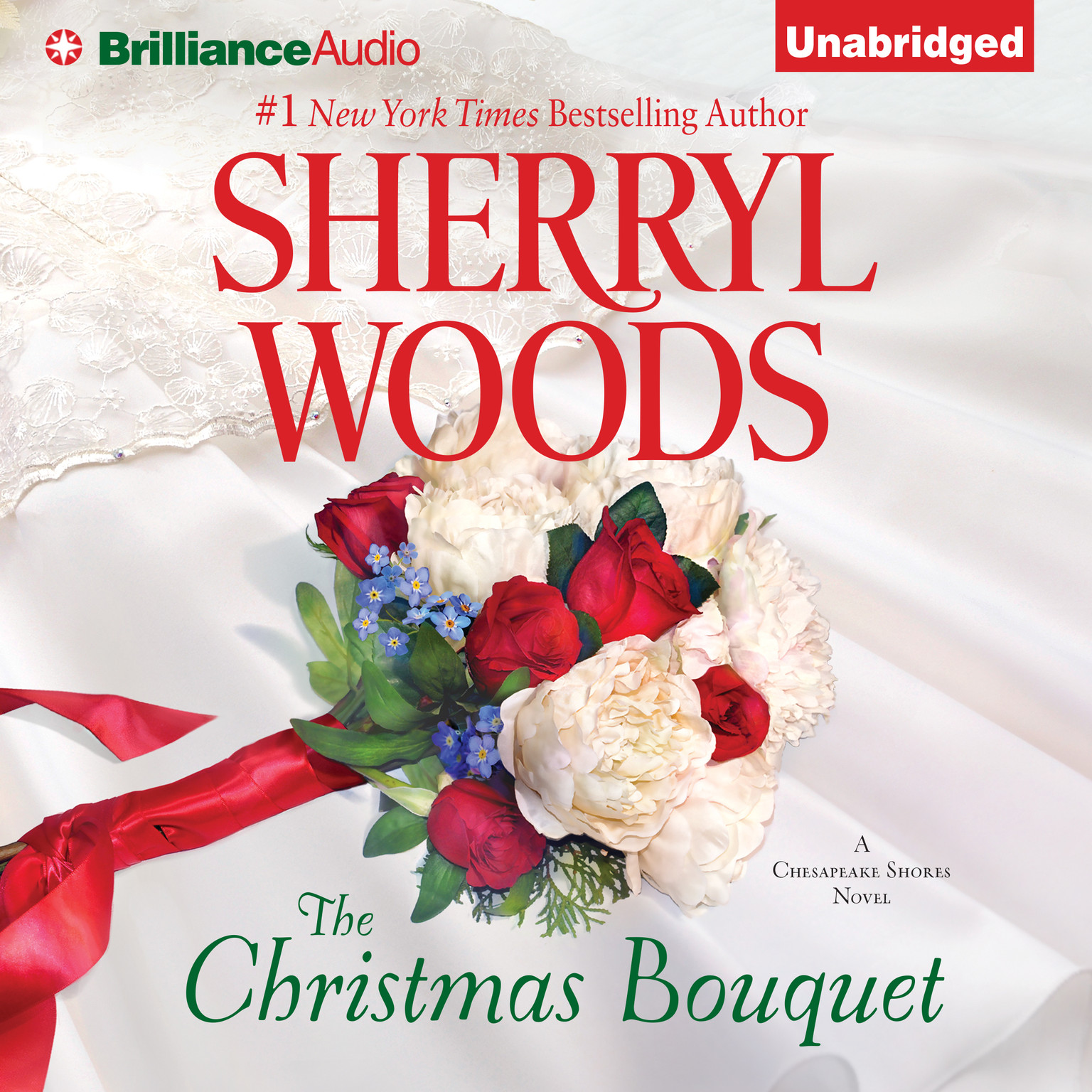 Printable The Christmas Bouquet Audiobook Cover Art