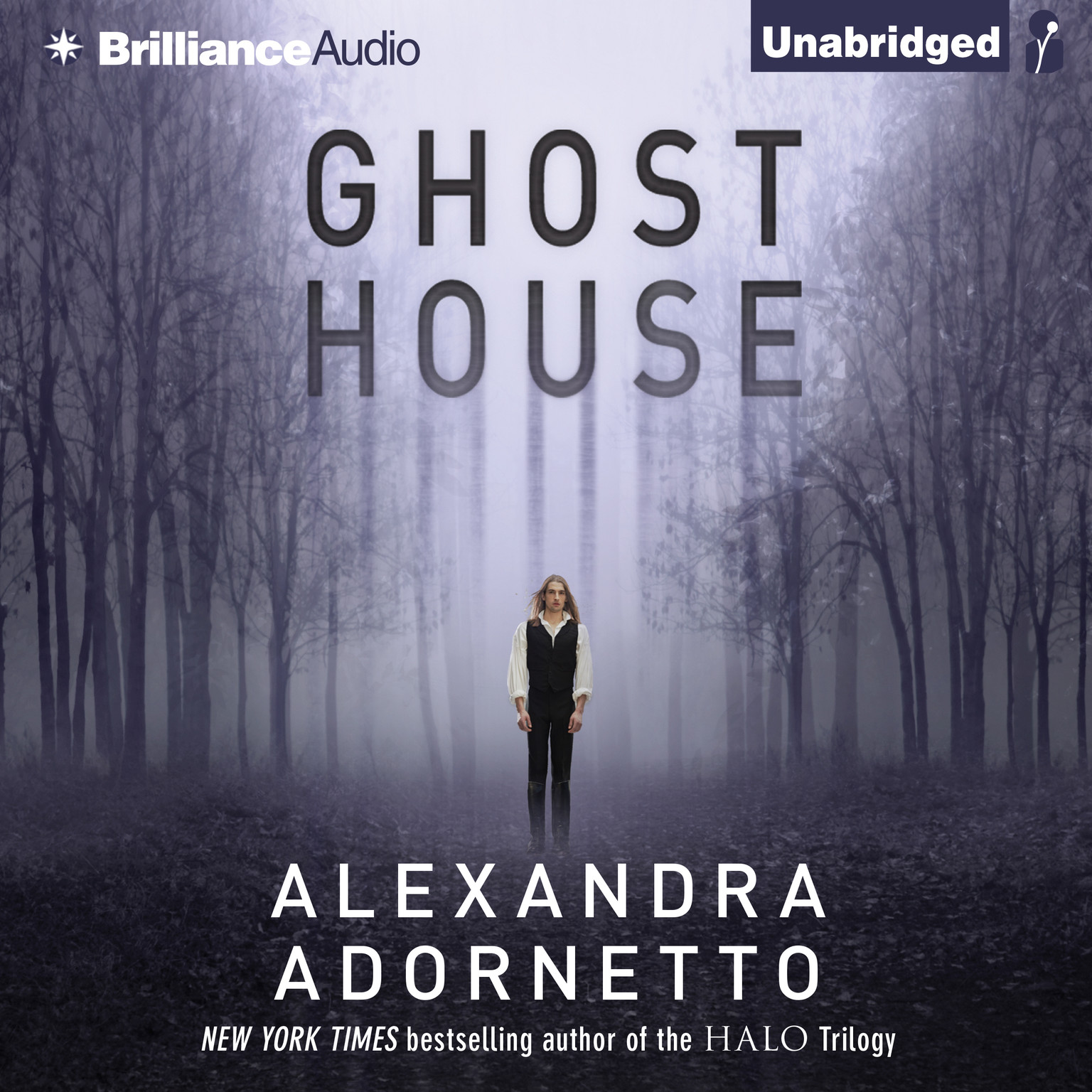 Printable Ghost House Audiobook Cover Art