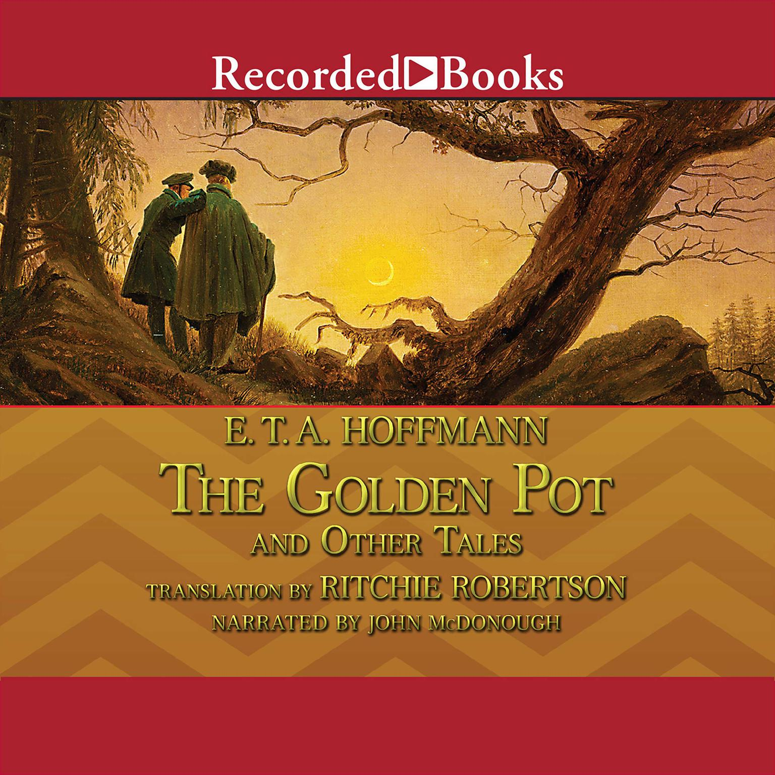 Printable The Golden Pot and Other Tales Audiobook Cover Art