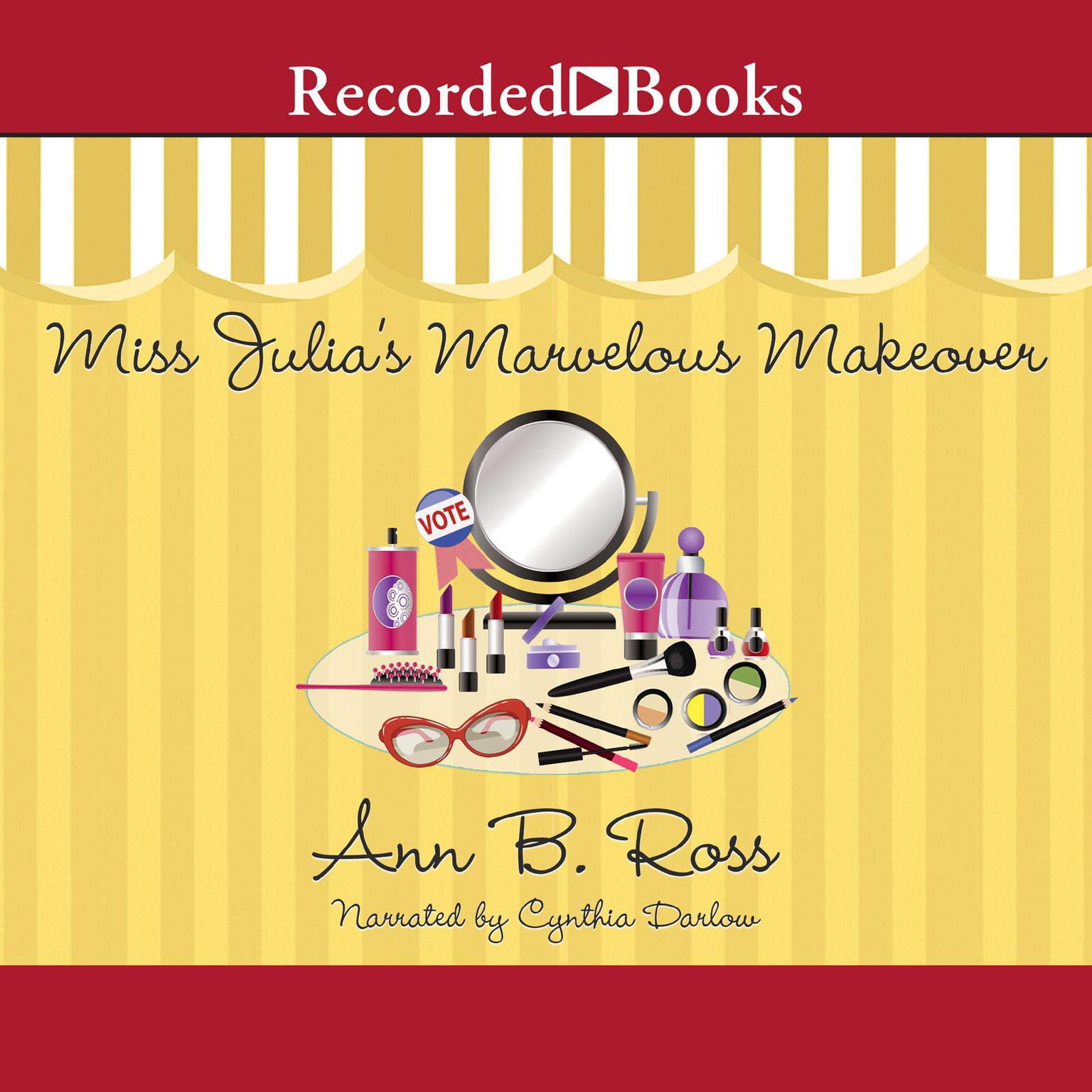 Printable Miss Julia's Marvelous Makeover Audiobook Cover Art