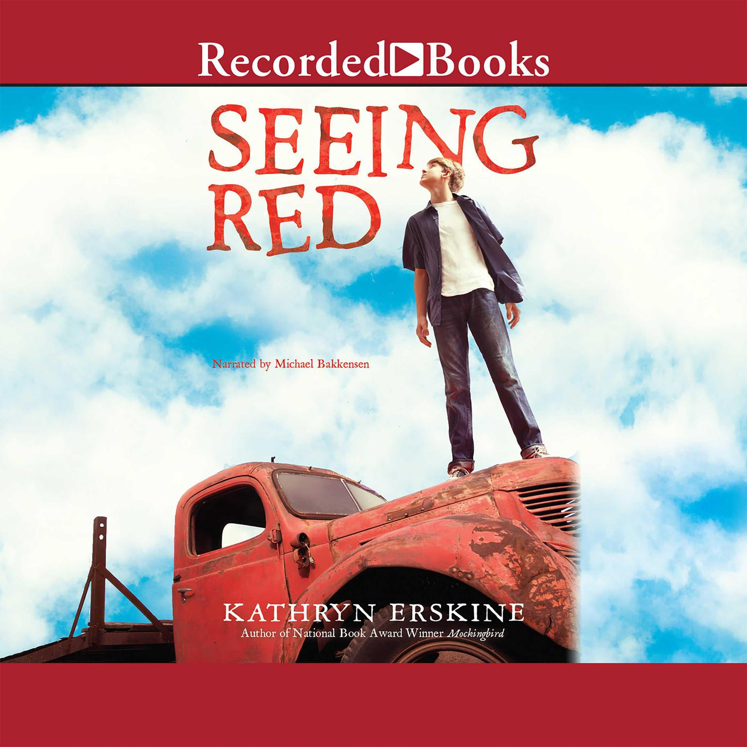 Printable Seeing Red Audiobook Cover Art
