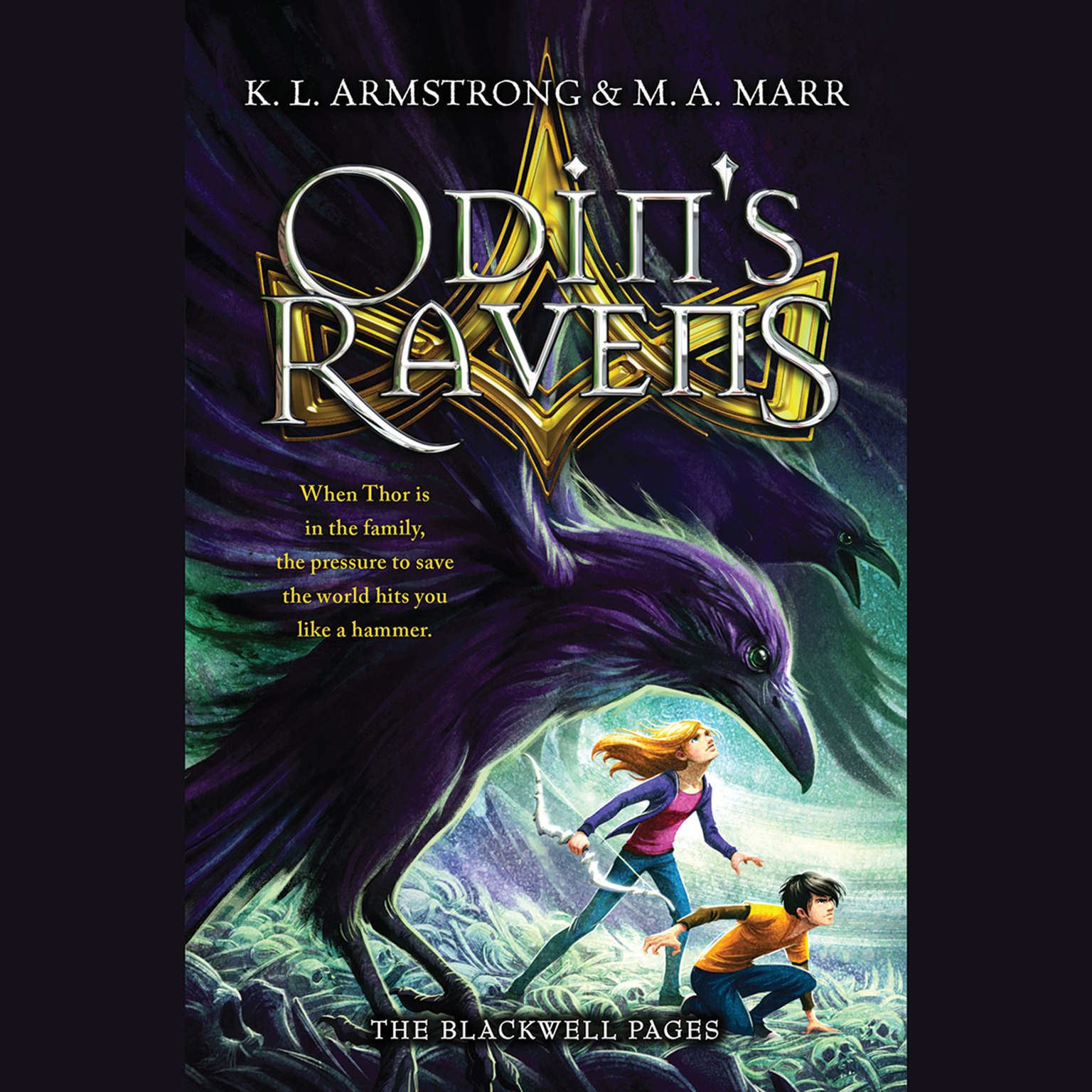 Printable Odin's Ravens Audiobook Cover Art