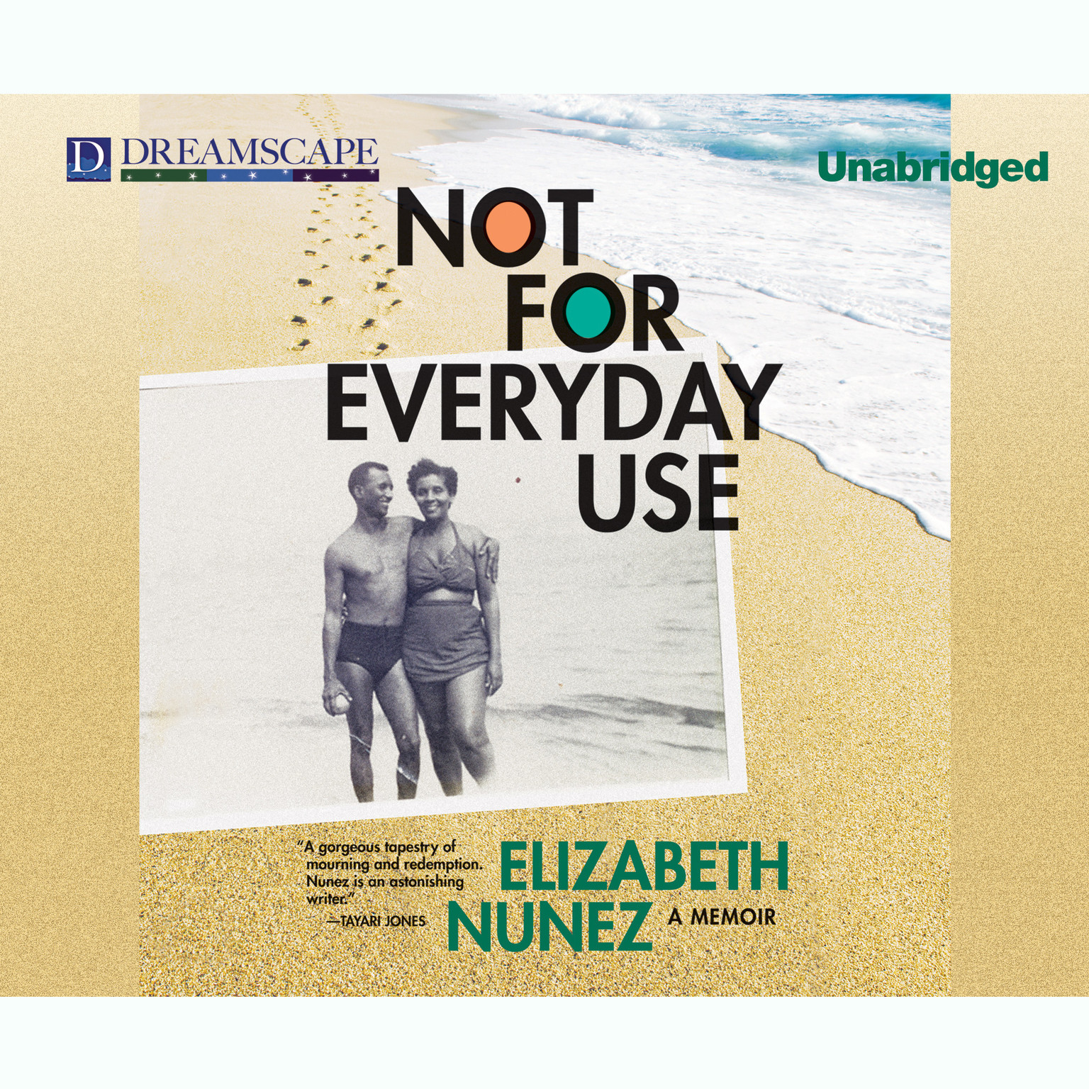 Printable Not for Everyday Use: A Memoir Audiobook Cover Art