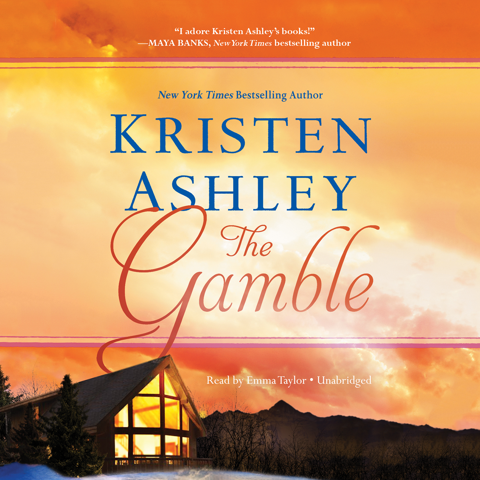 Printable The Gamble Audiobook Cover Art
