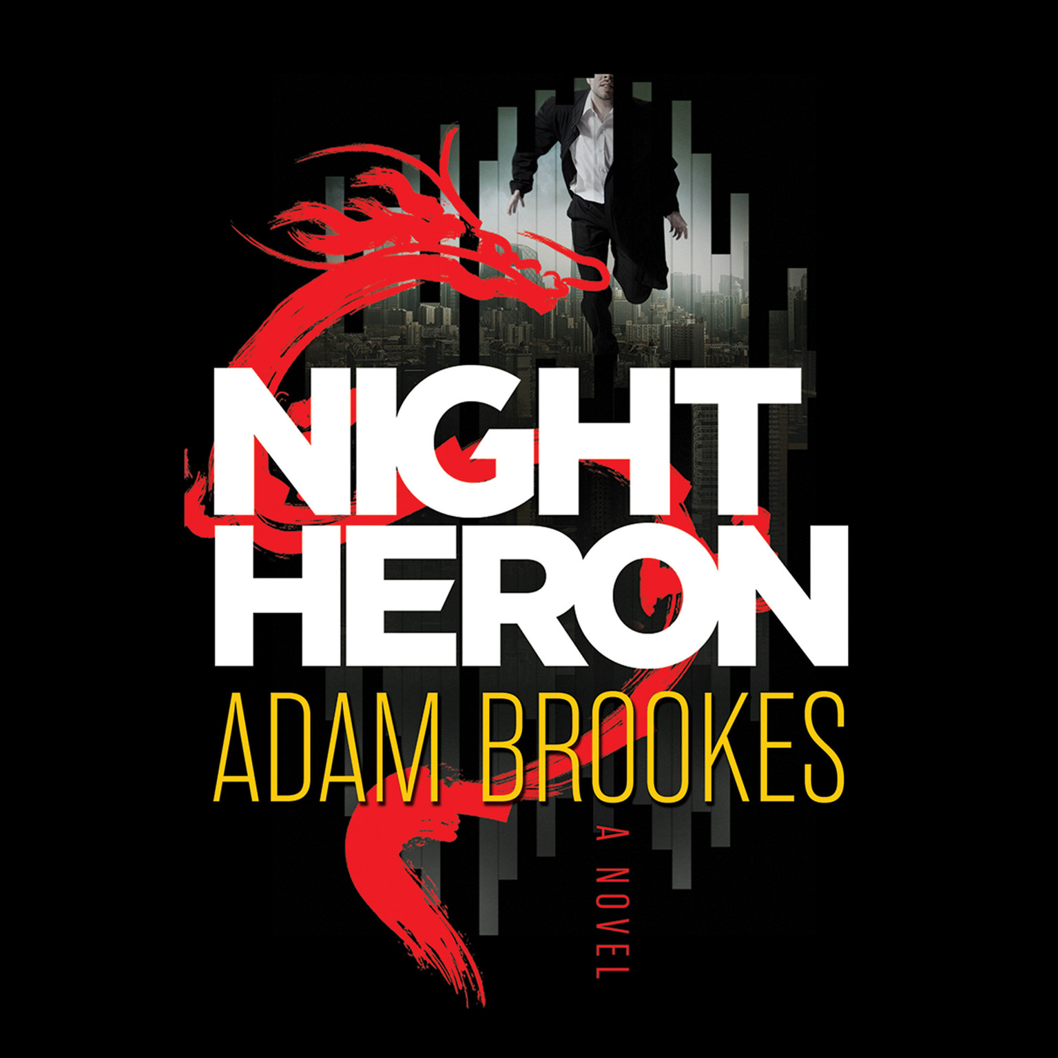 Printable Night Heron Audiobook Cover Art