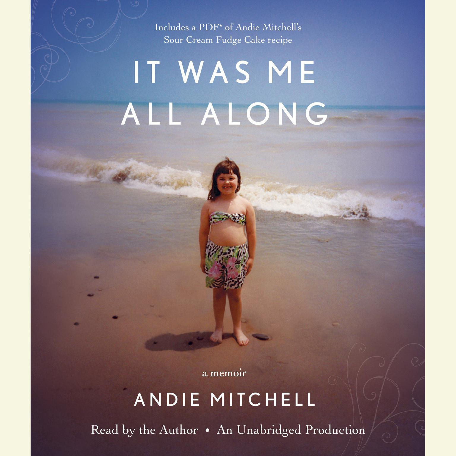 Printable It Was Me All Along Audiobook Cover Art