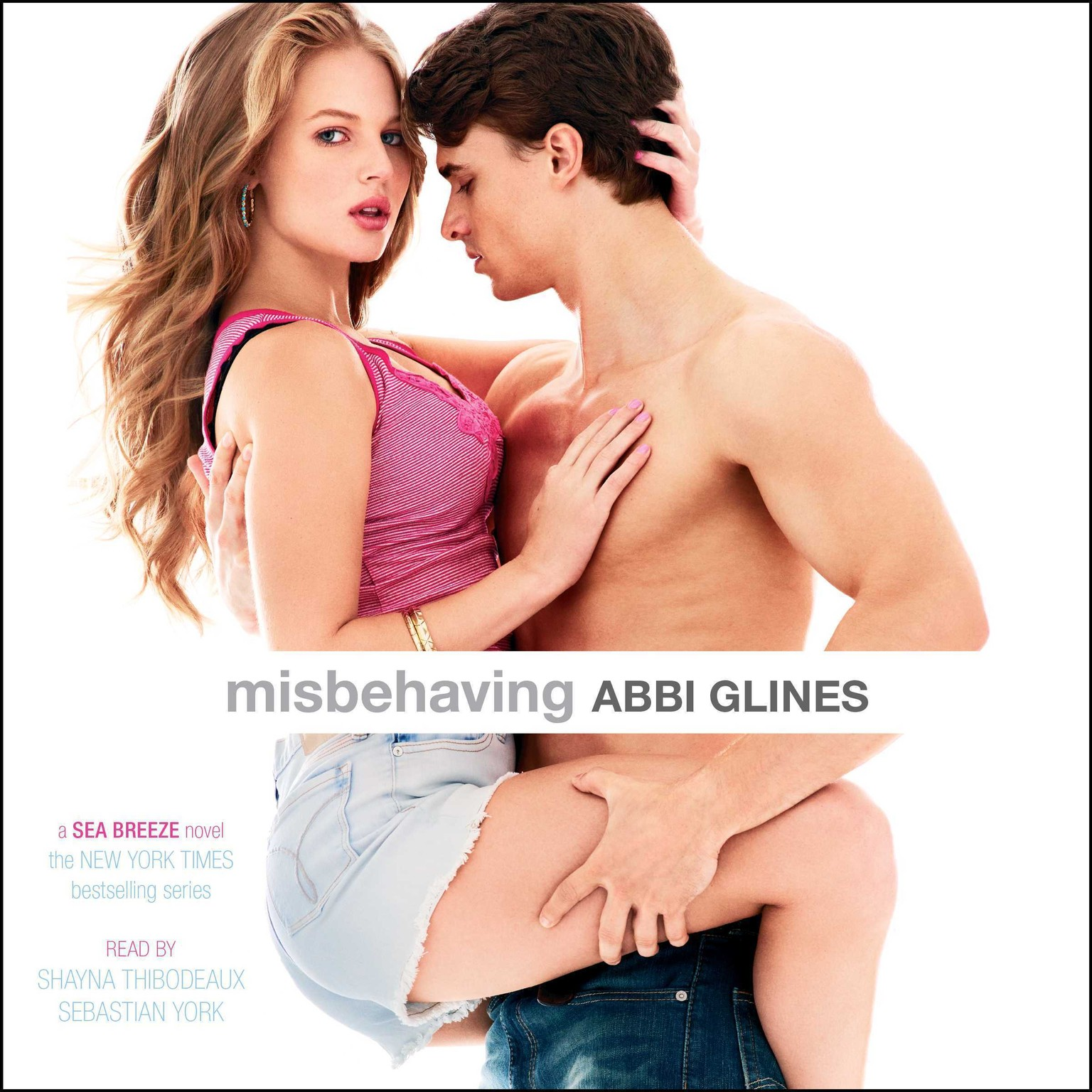 Printable Misbehaving Audiobook Cover Art