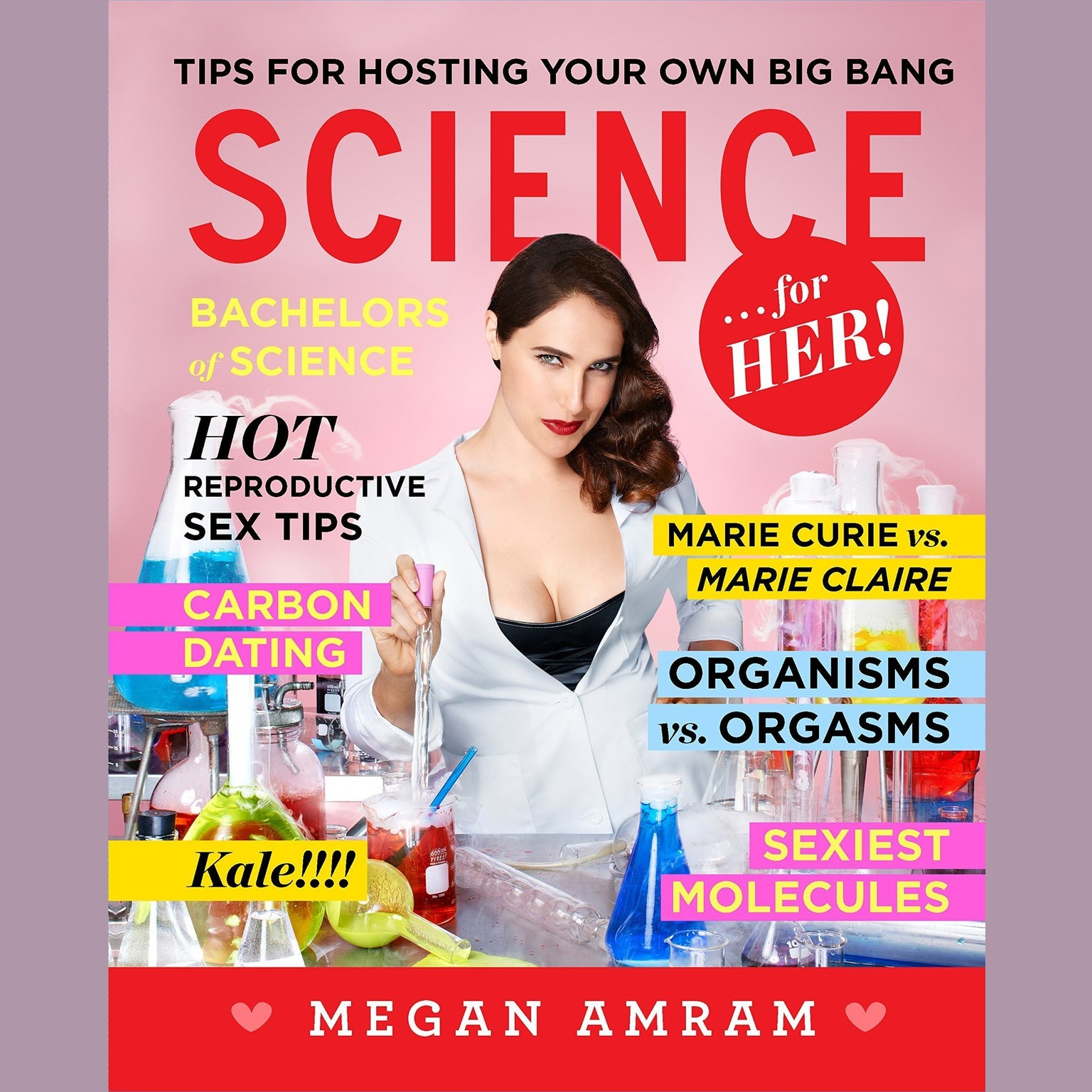Printable Science…for Her! Audiobook Cover Art
