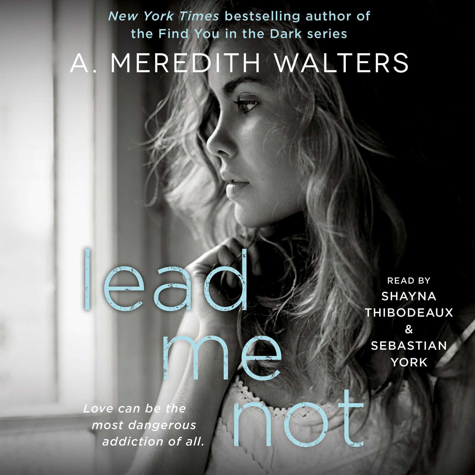 Printable Lead Me Not Audiobook Cover Art