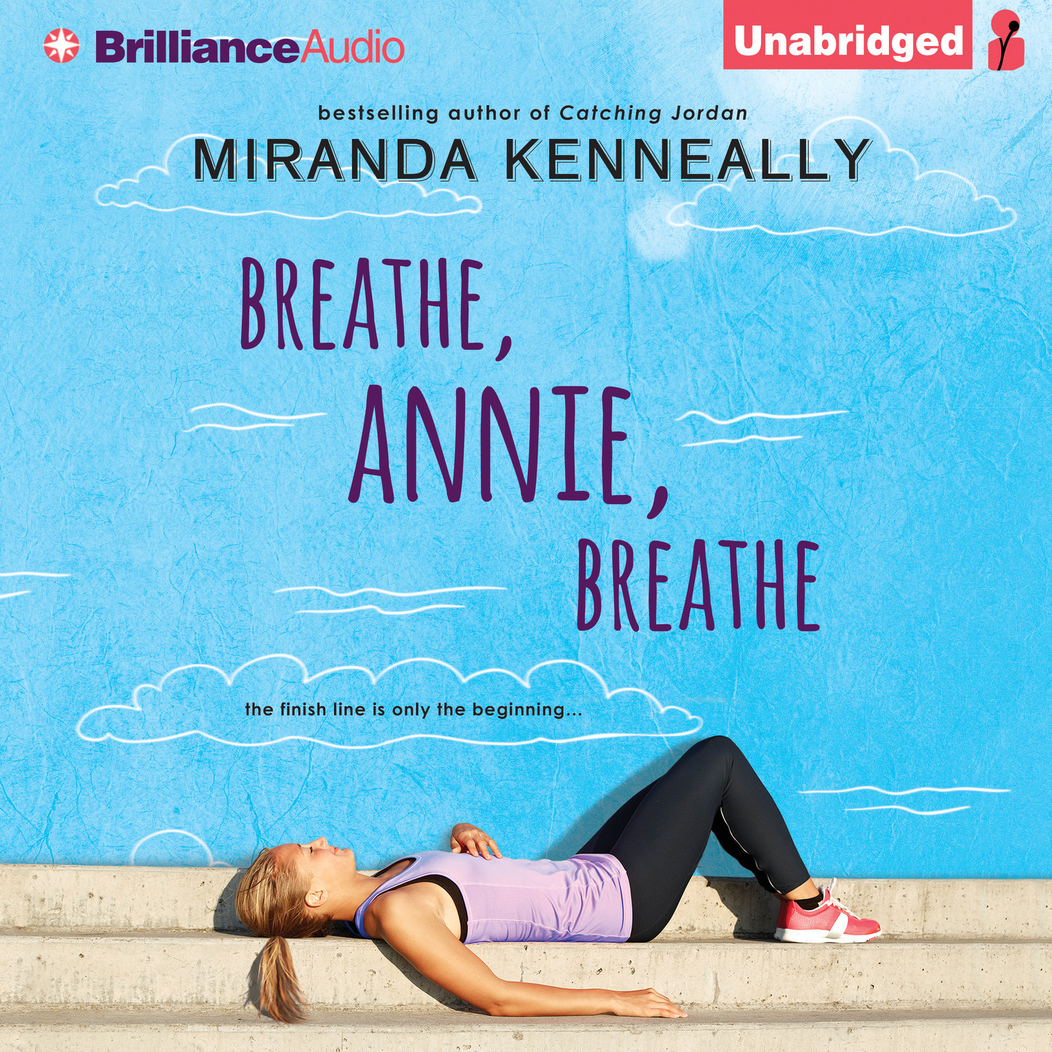 Printable Breathe, Annie, Breathe Audiobook Cover Art