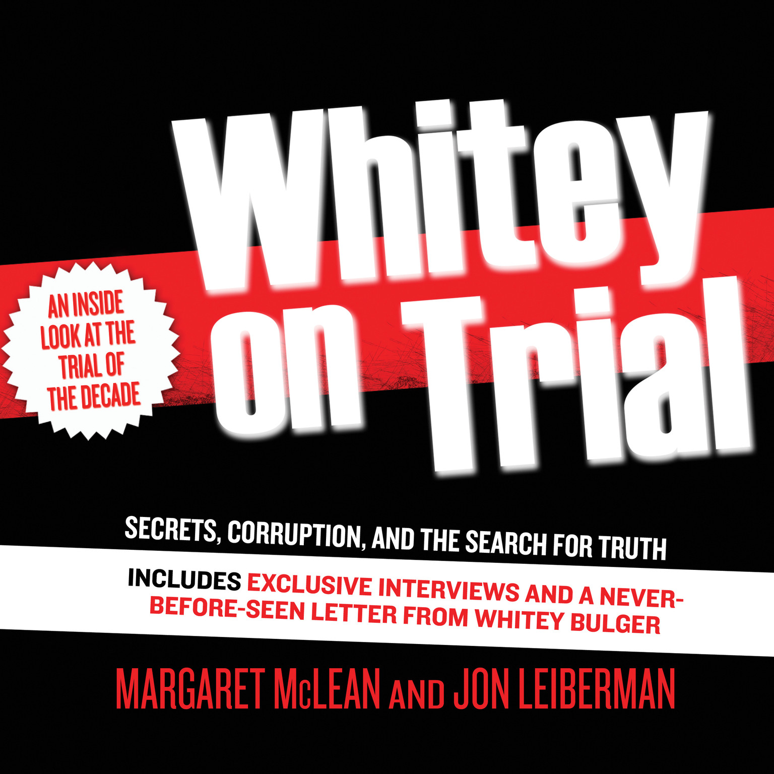 Printable Whitey on Trial: Secrets, Corruption, and the Search for Truth Audiobook Cover Art