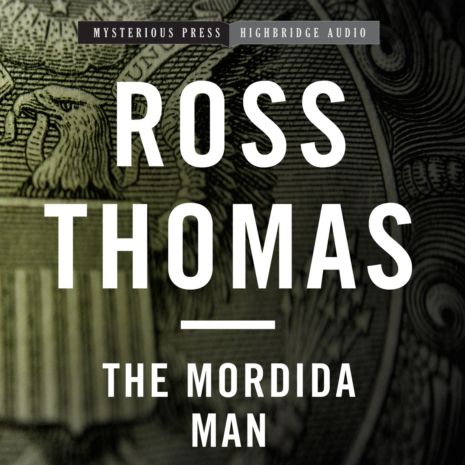 Printable The Mordida Man Audiobook Cover Art