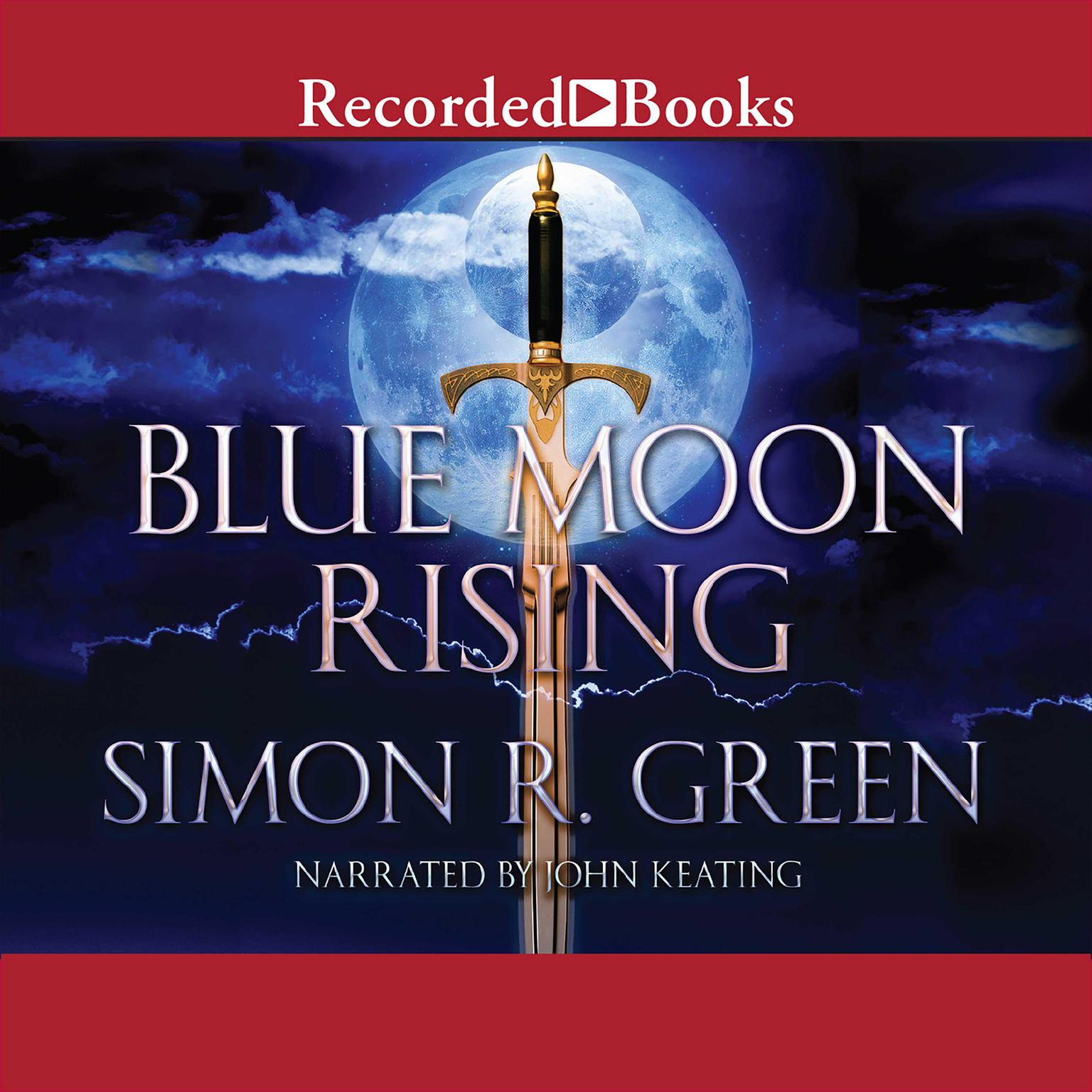 Printable Blue Moon Rising Audiobook Cover Art