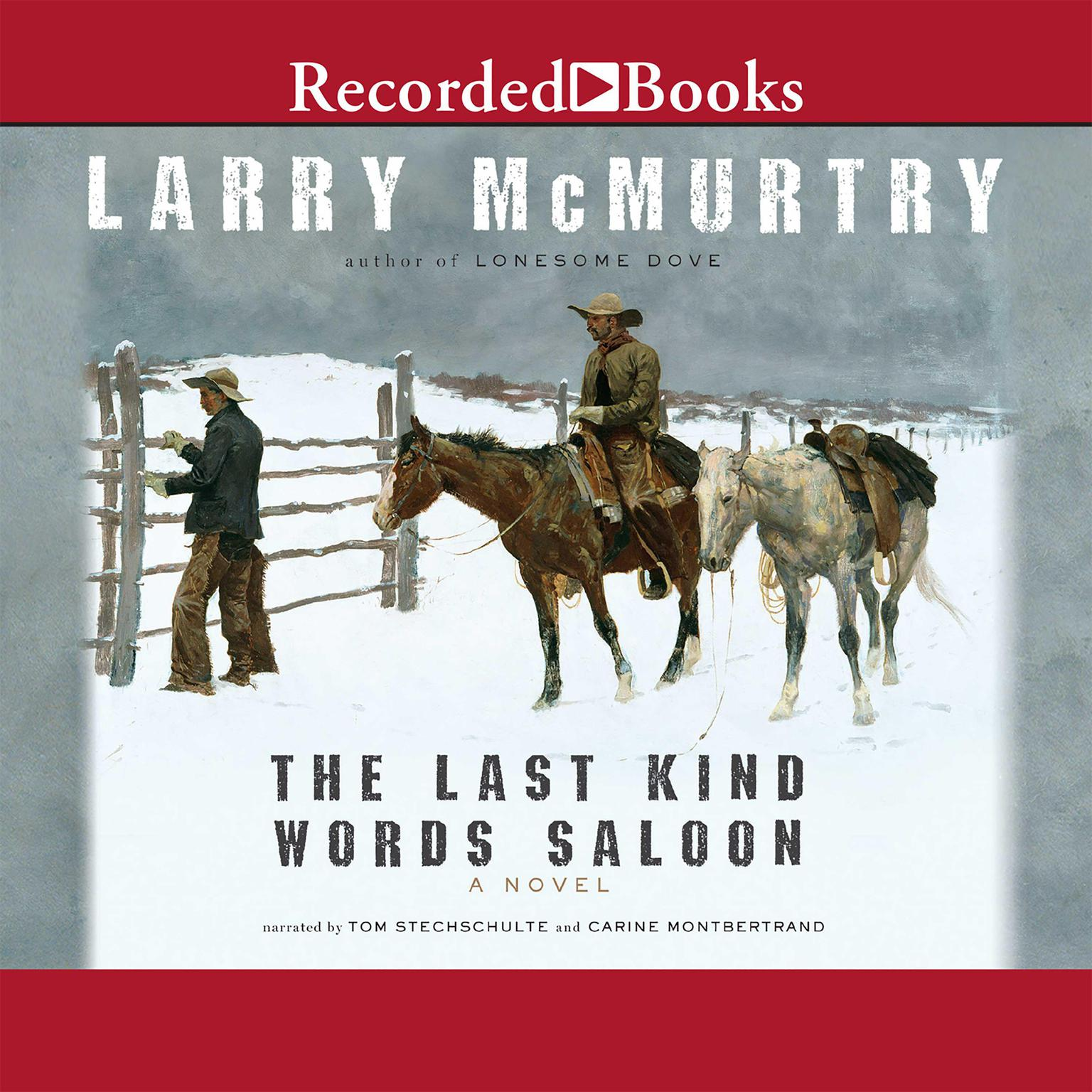 Printable The Last Kind Words Saloon Audiobook Cover Art