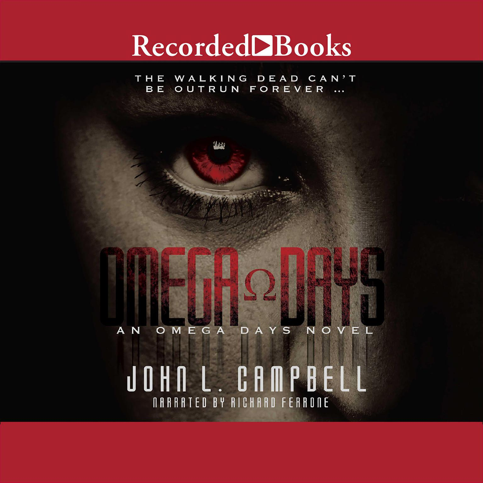 Printable Omega Days Audiobook Cover Art