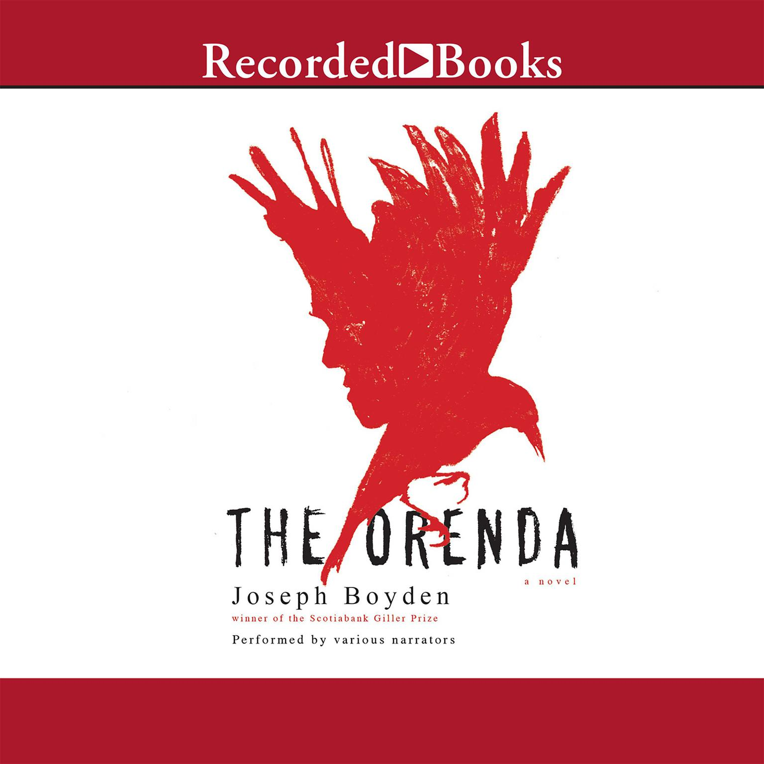 Printable The Orenda Audiobook Cover Art