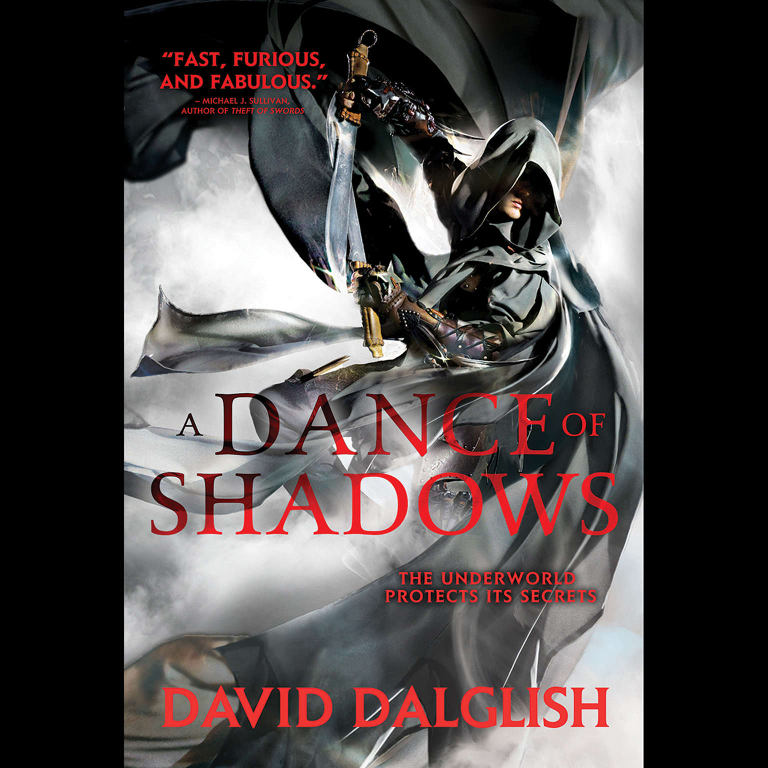 Printable A Dance of Shadows Audiobook Cover Art