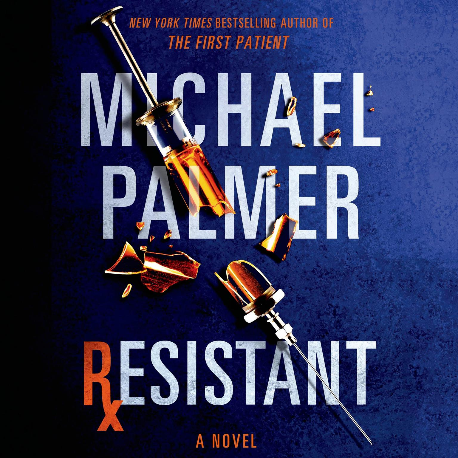 Printable Resistant: A Novel Audiobook Cover Art