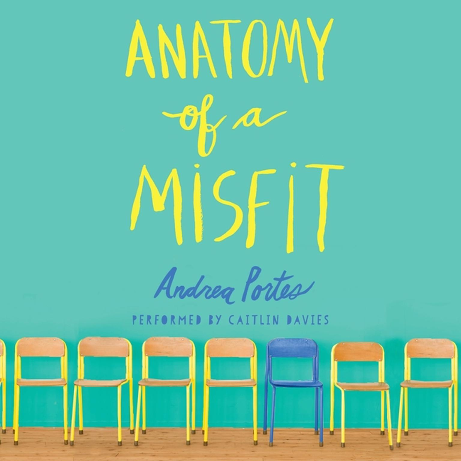 Printable Anatomy of a Misfit Audiobook Cover Art