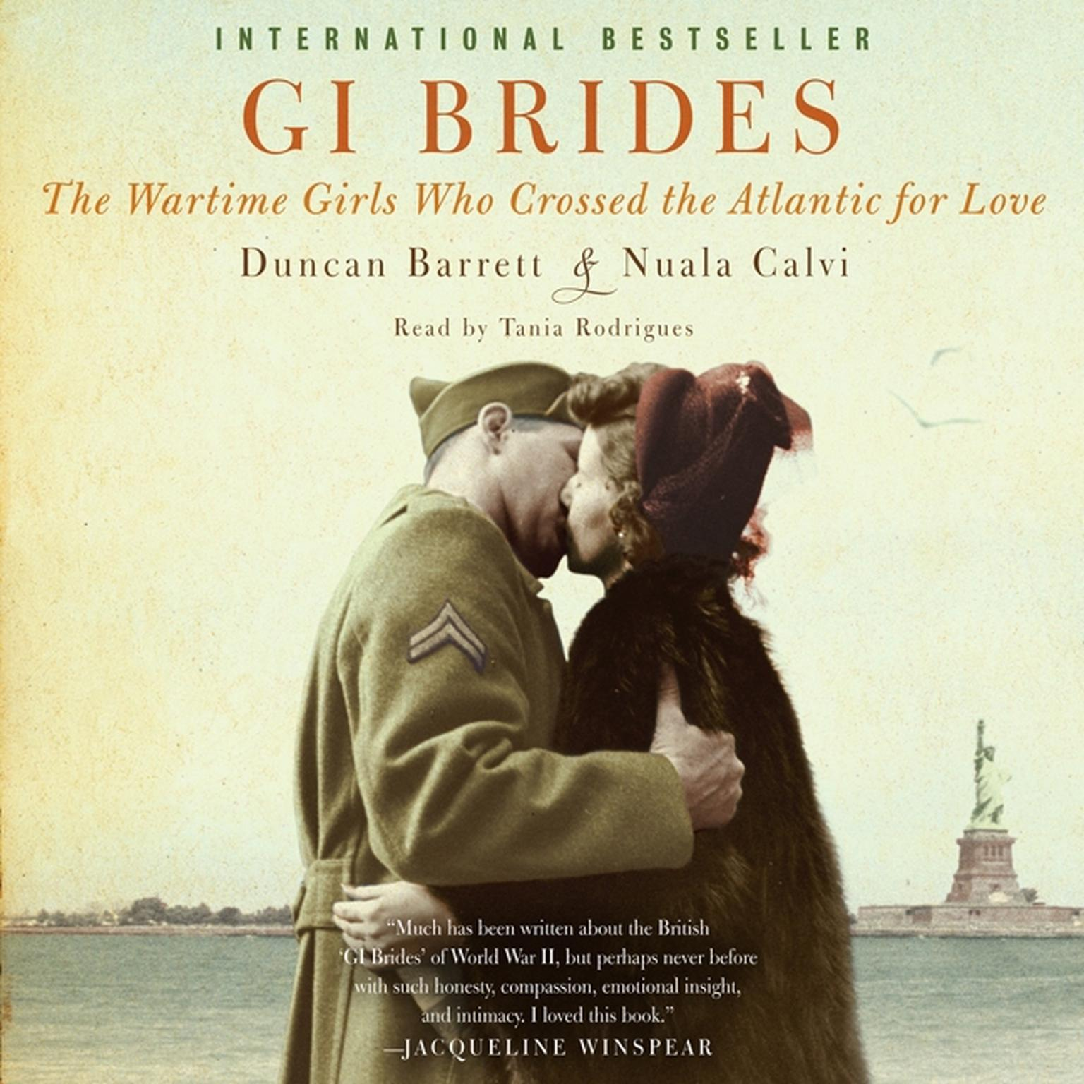 Printable GI Brides: The Wartime Girls Who Crossed the Atlantic for Love Audiobook Cover Art