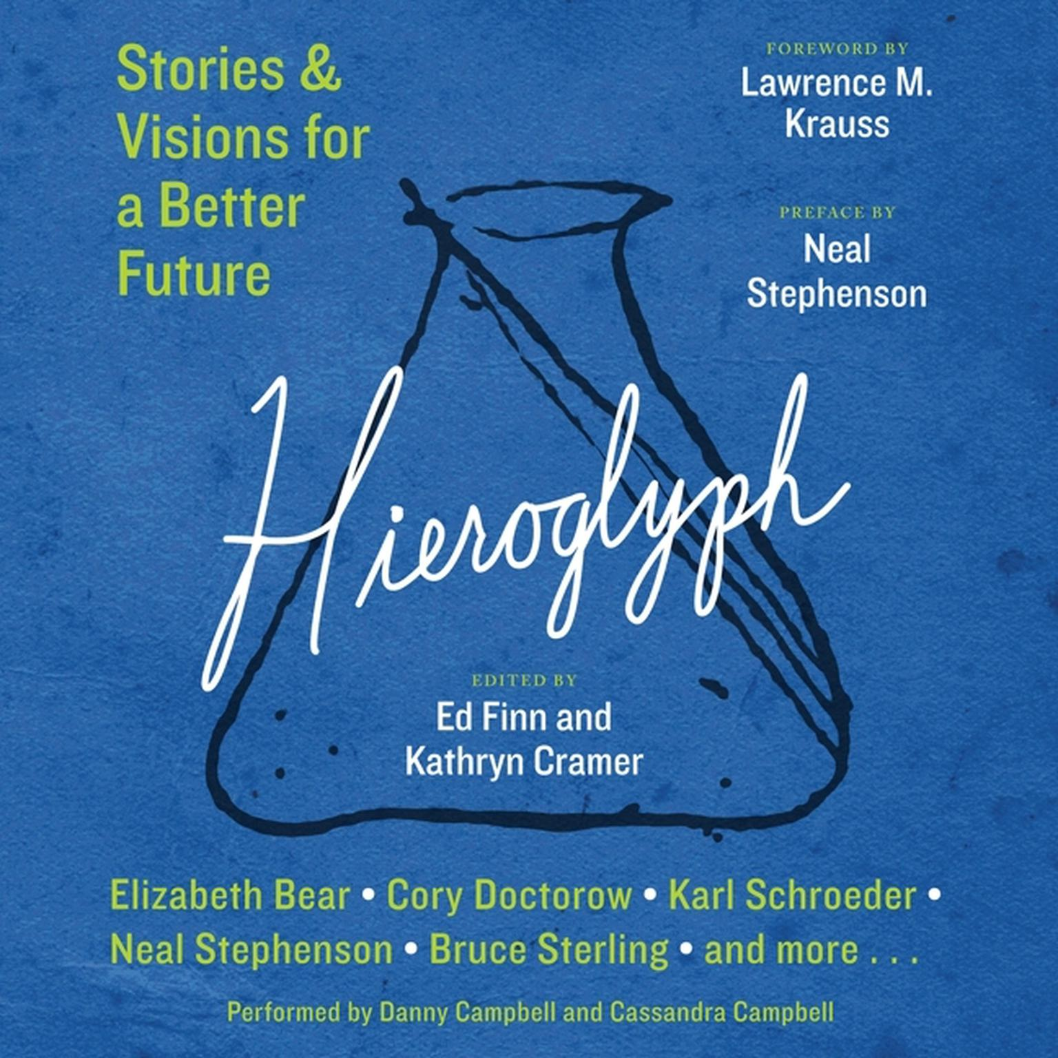 Printable Hieroglyph: Stories and Visions for a Better Future Audiobook Cover Art