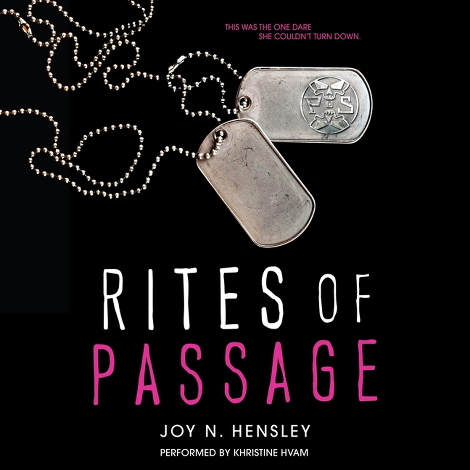 Printable Rites of Passage Audiobook Cover Art