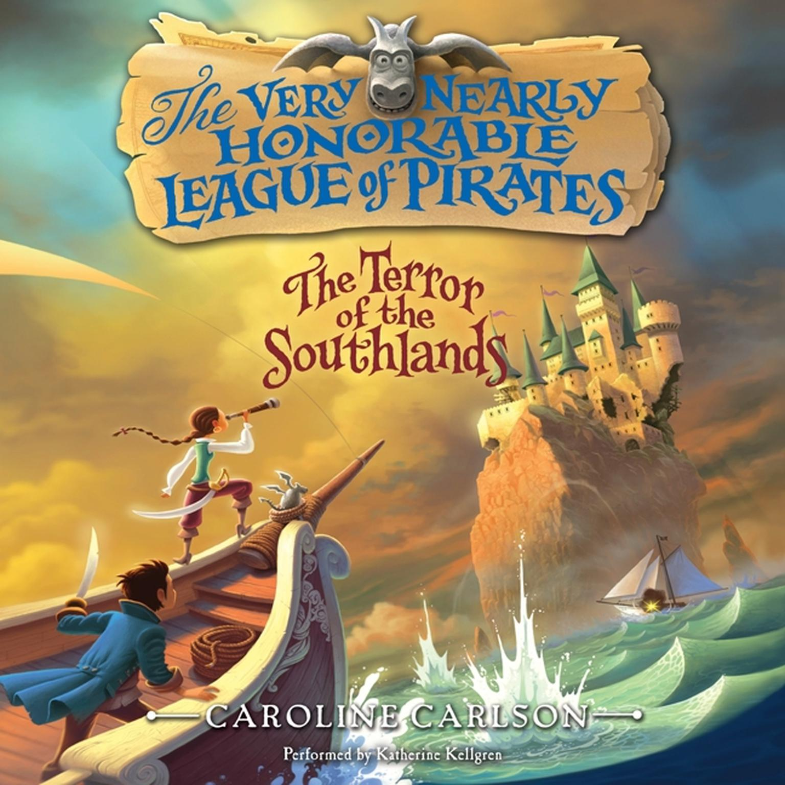 Printable The Terror of the Southlands Audiobook Cover Art