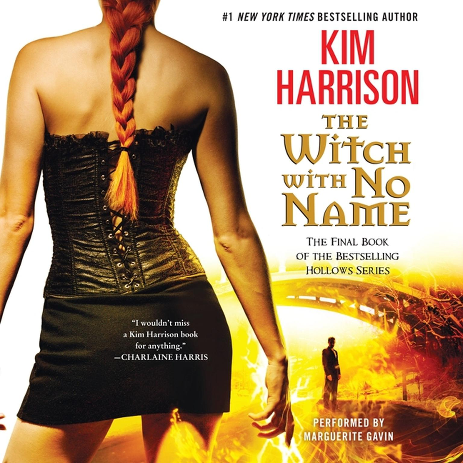Printable The Witch with No Name Audiobook Cover Art