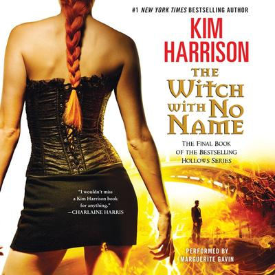 The Witch with No Name Audiobook, by Kim Harrison