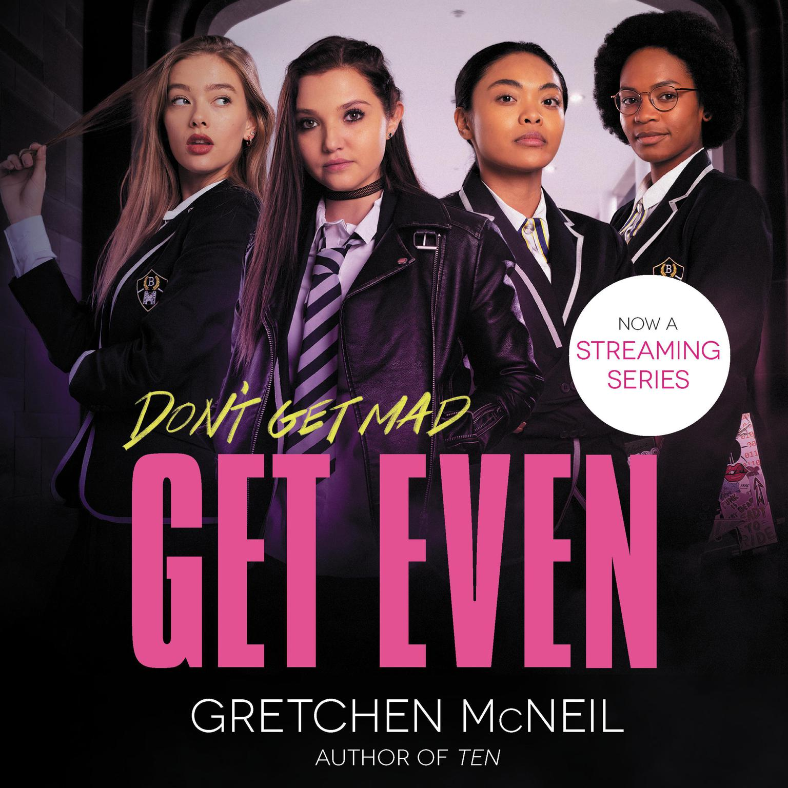 Printable Get Even Audiobook Cover Art
