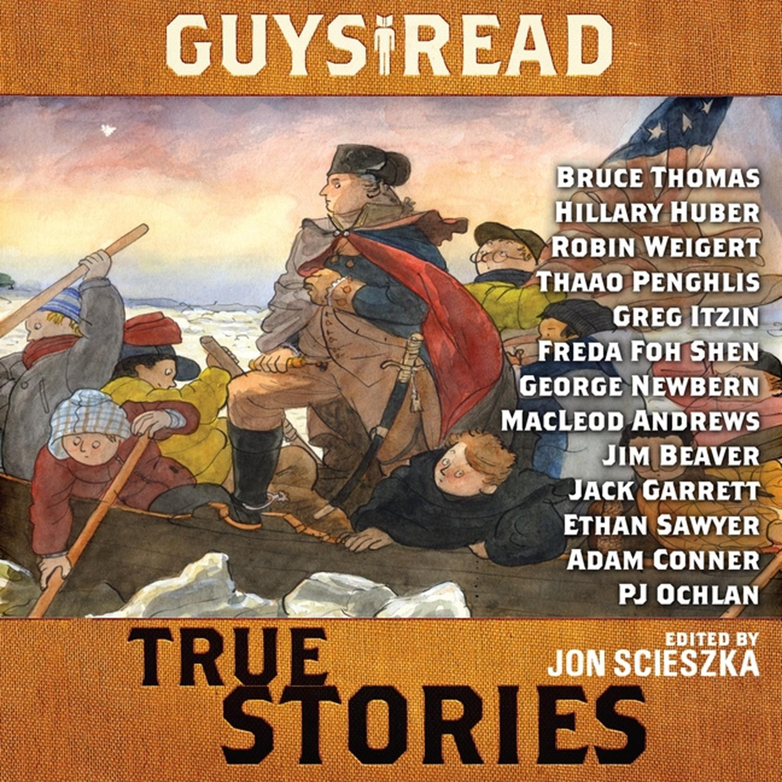 Printable Guys Read: True Stories Audiobook Cover Art