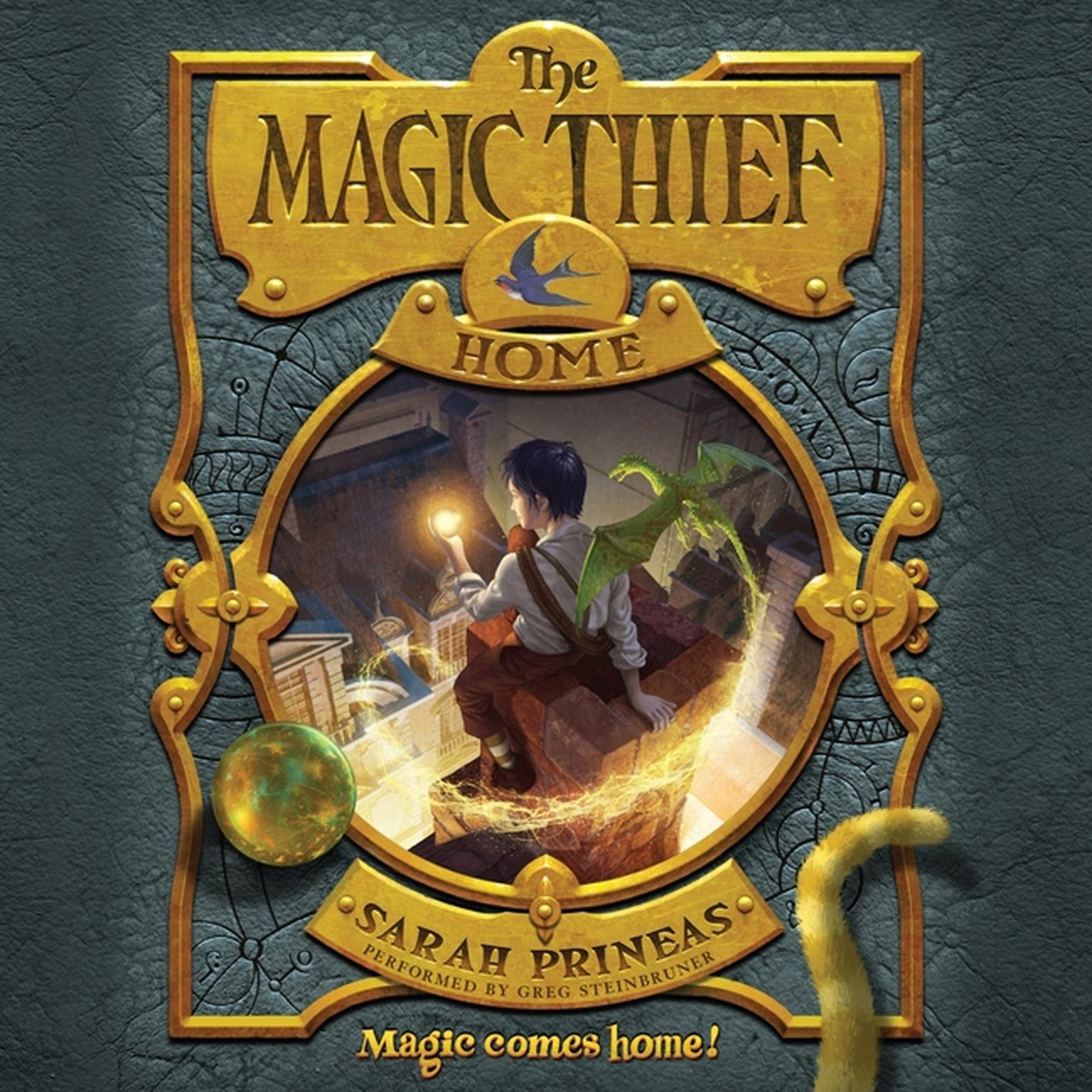 Printable The Magic Thief: Home Audiobook Cover Art