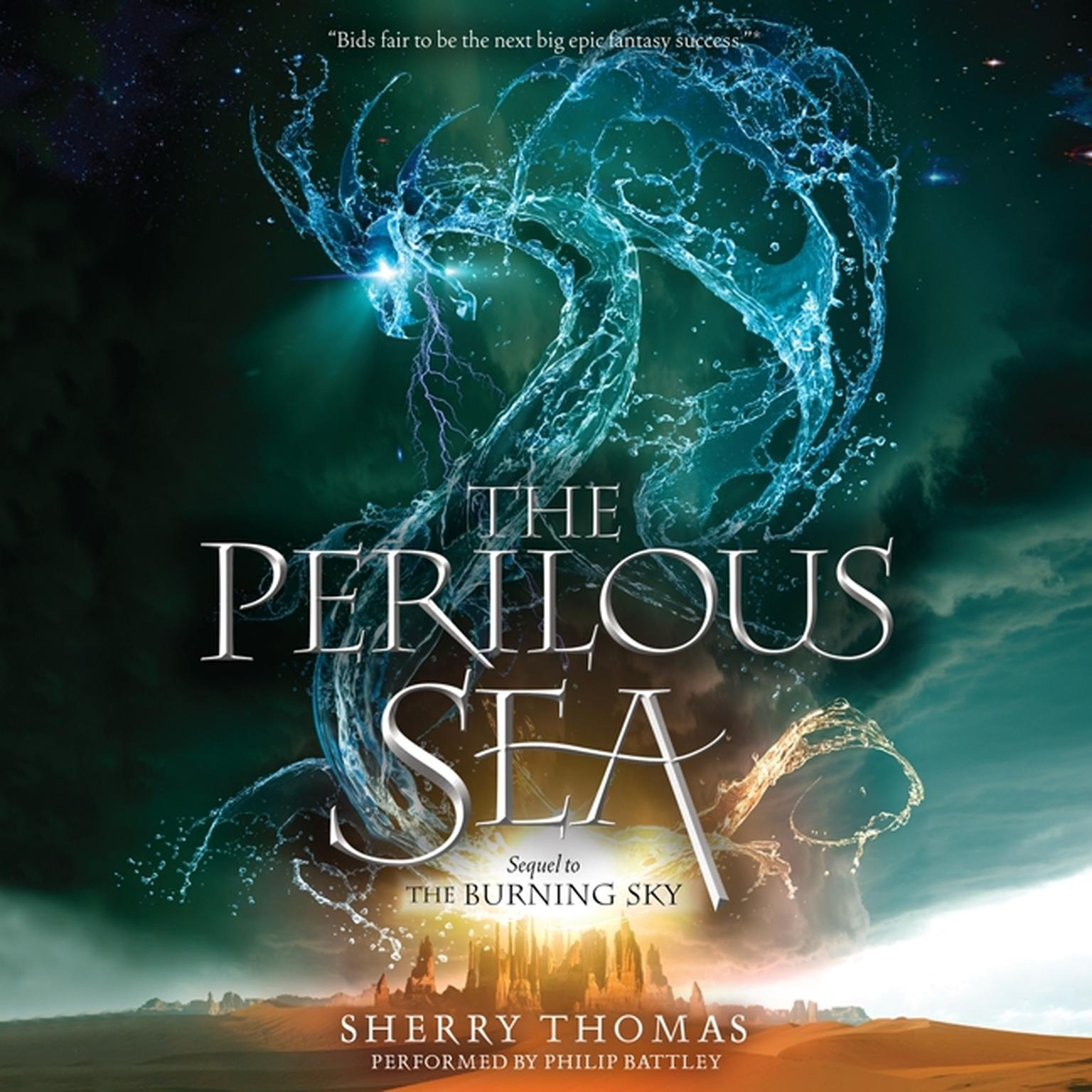 Printable The Perilous Sea Audiobook Cover Art