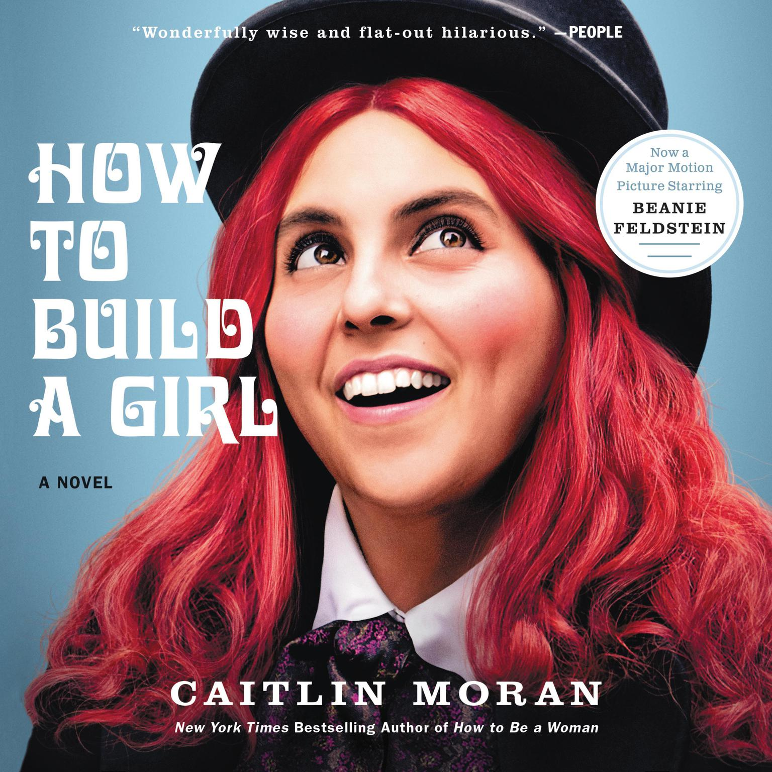 Printable How to Build a Girl: A Novel Audiobook Cover Art