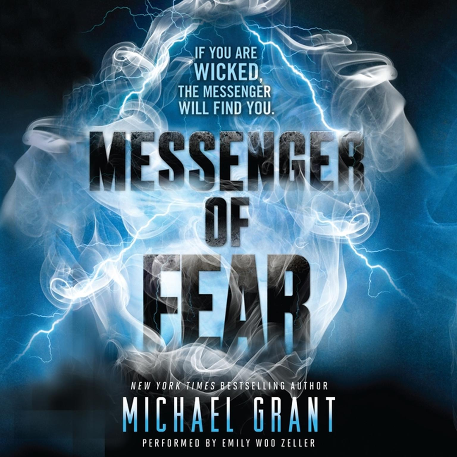 Printable Messenger of Fear Audiobook Cover Art