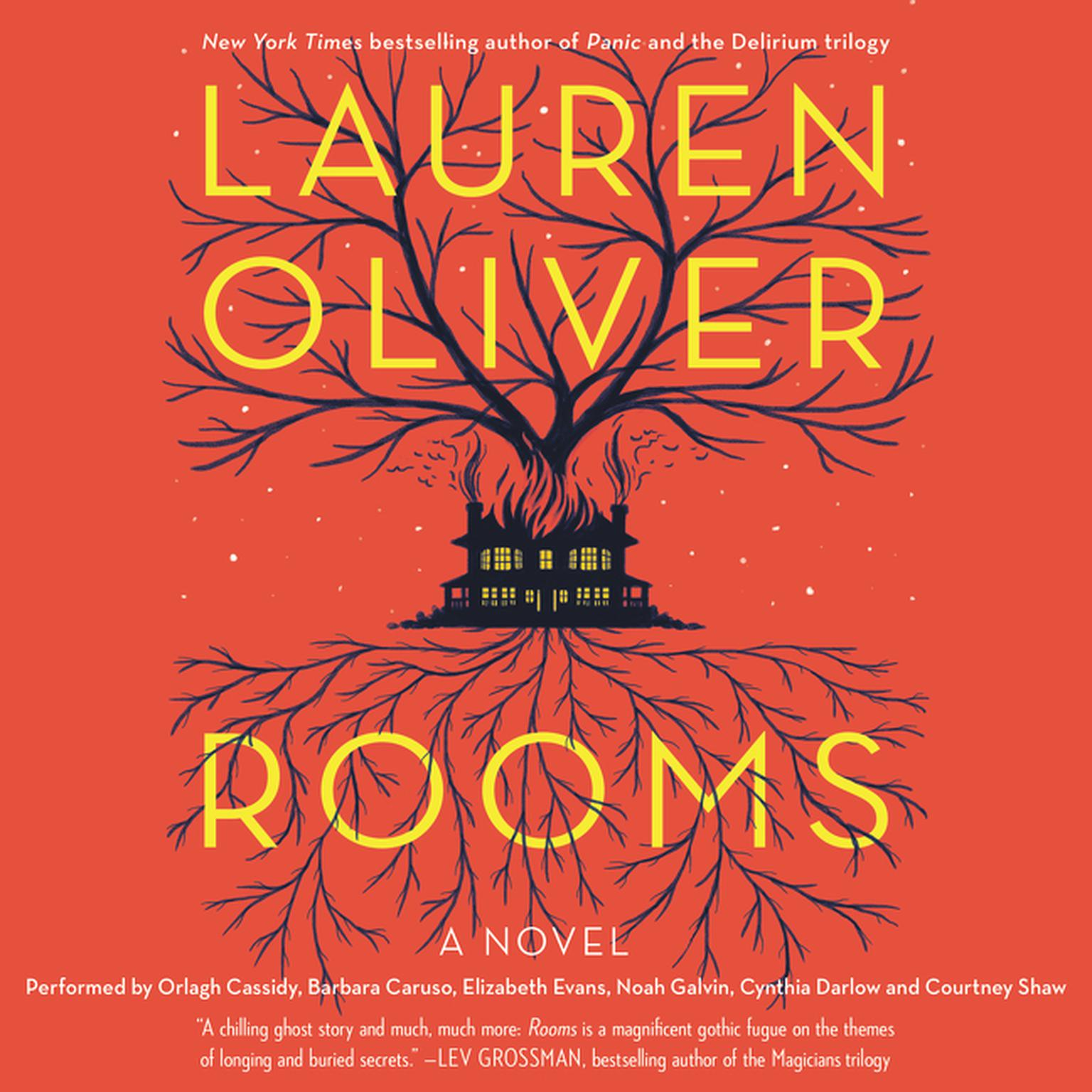 Printable Rooms: A Novel Audiobook Cover Art