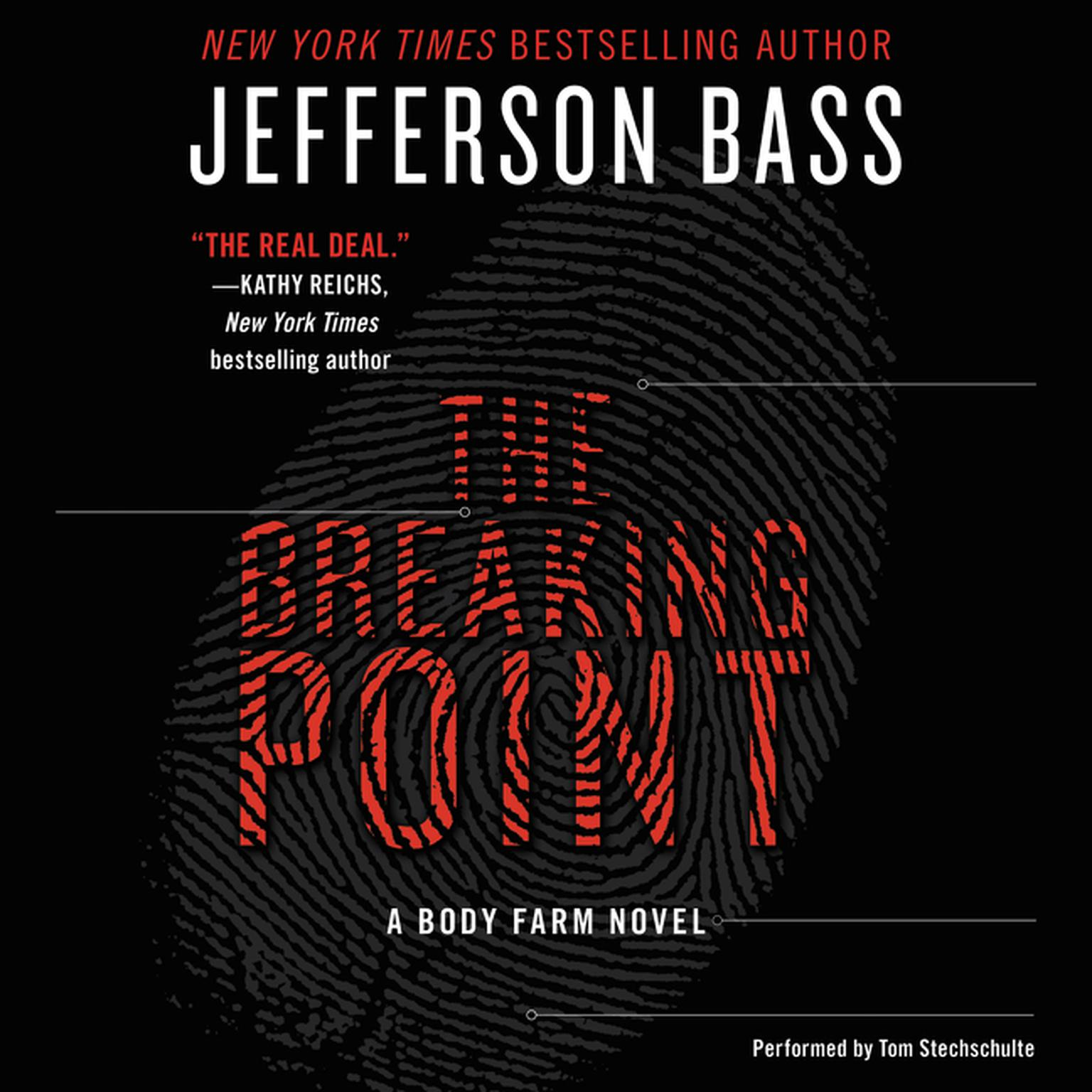 Printable The Breaking Point: A Body Farm Novel Audiobook Cover Art