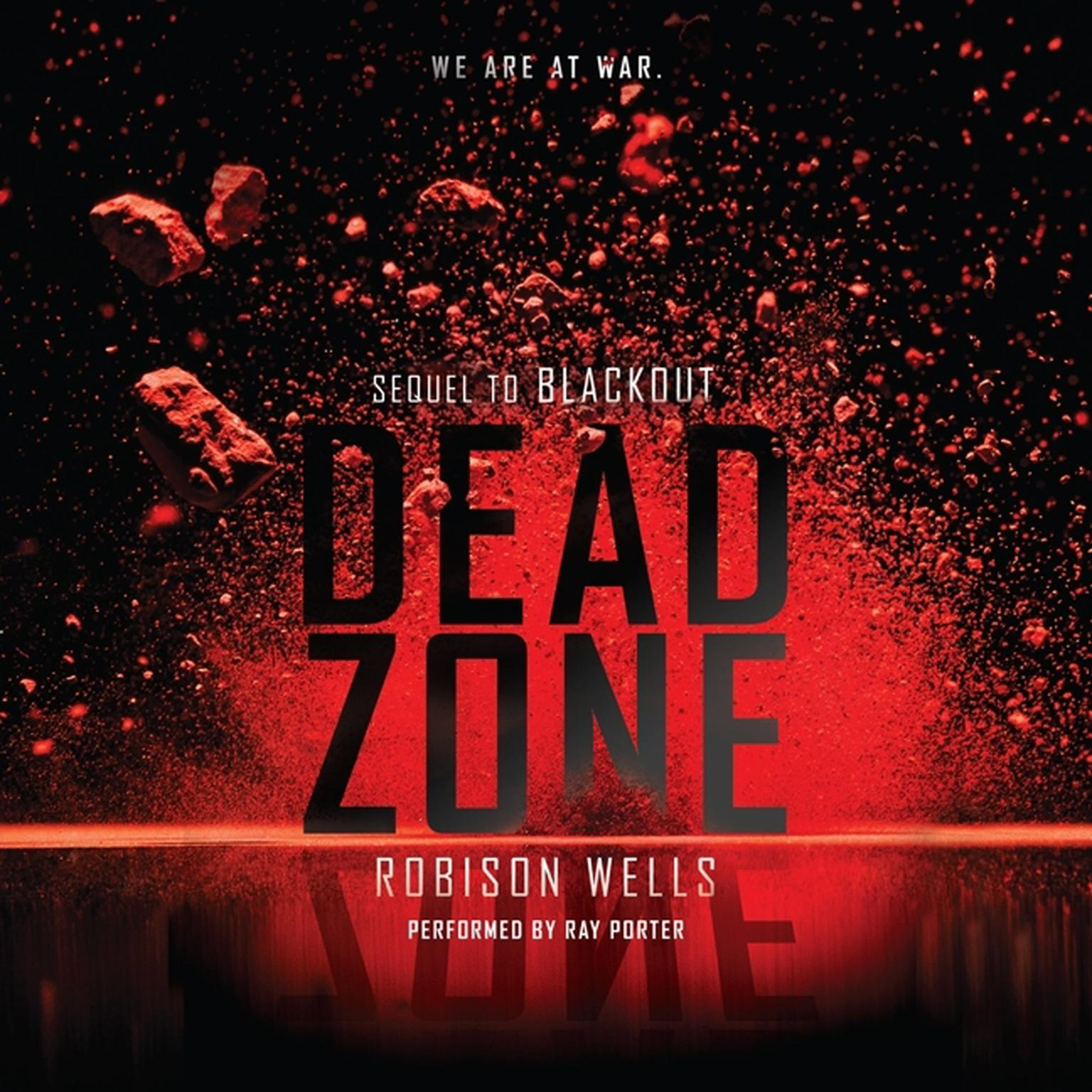 Printable Dead Zone Audiobook Cover Art