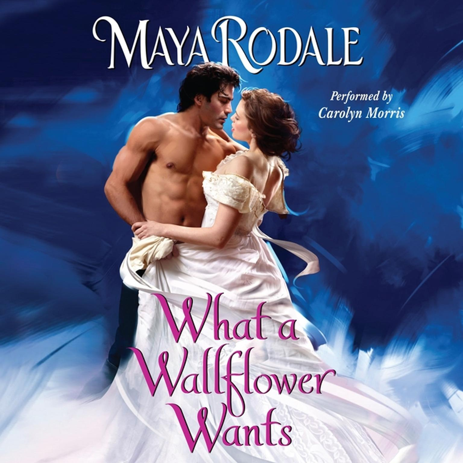 Printable What a Wallflower Wants Audiobook Cover Art