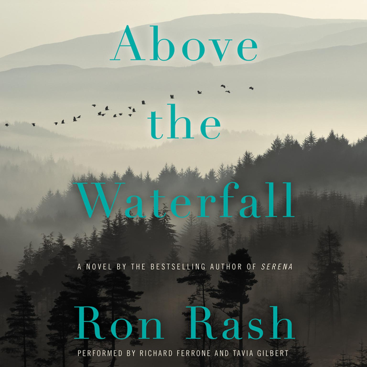 Printable Above the Waterfall: A Novel Audiobook Cover Art