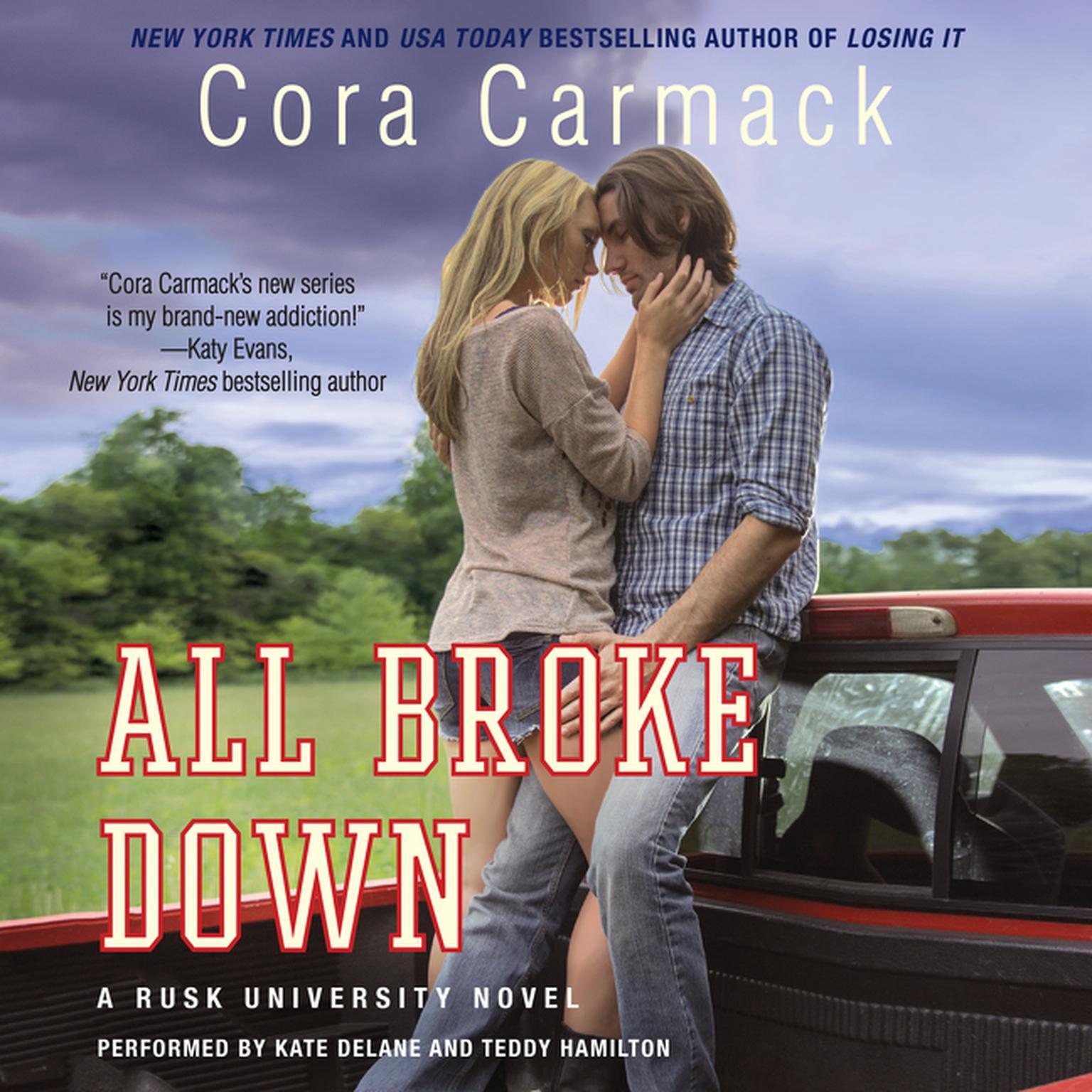 Printable All Broke Down: A Rusk University Novel Audiobook Cover Art