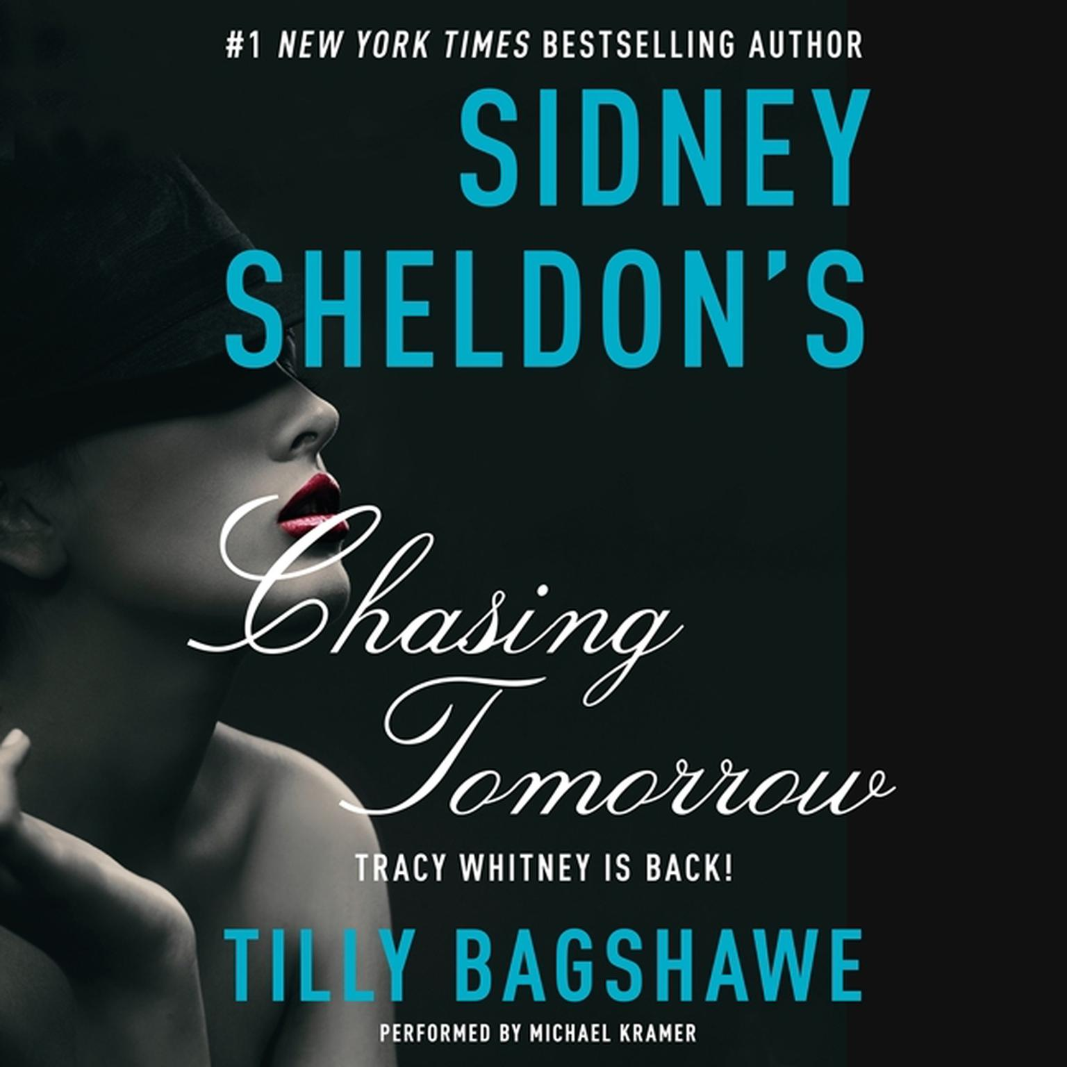 Printable Sidney Sheldon's Chasing Tomorrow Audiobook Cover Art